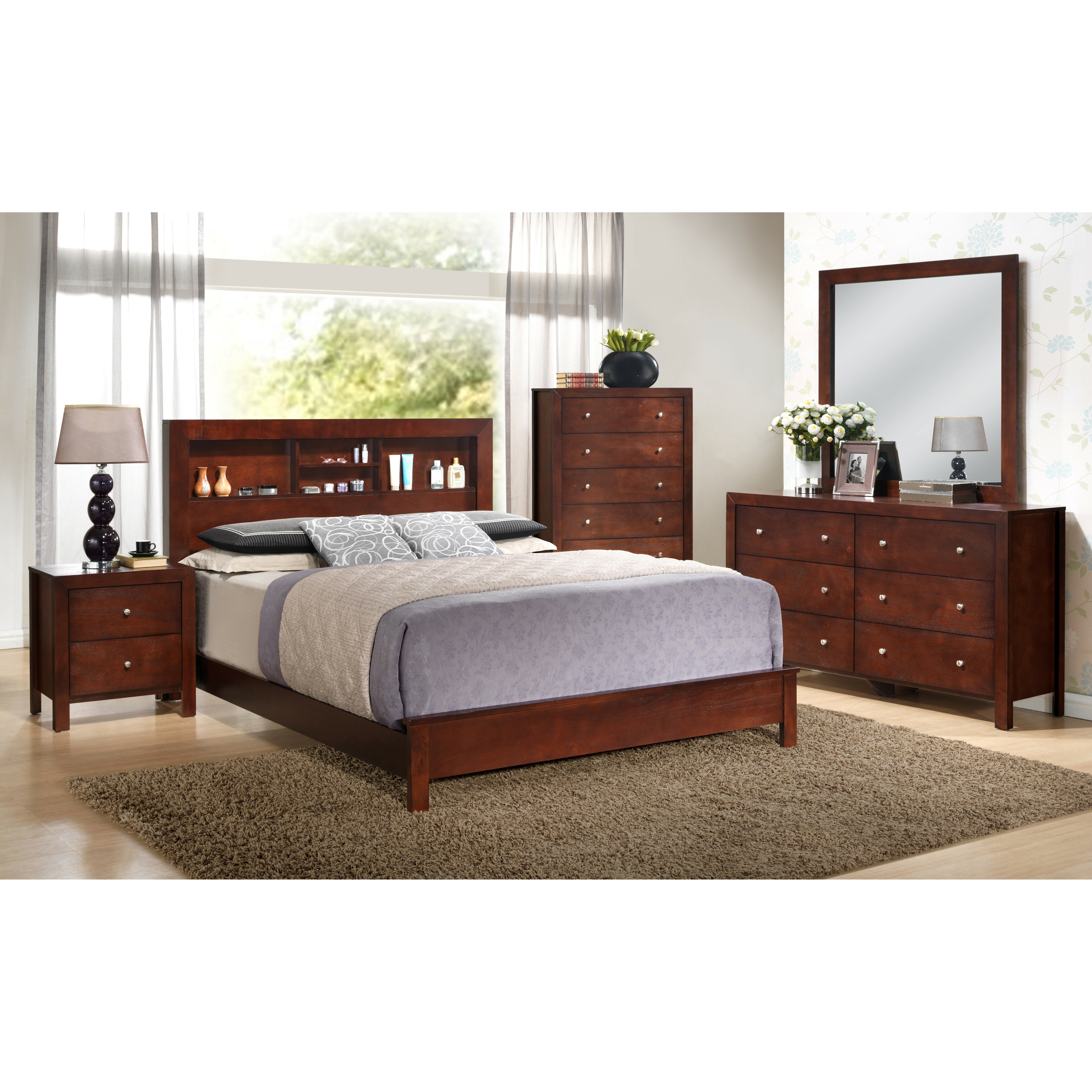 Glory Furniture Panel Customizable Bedroom Set Reviews Wayfair