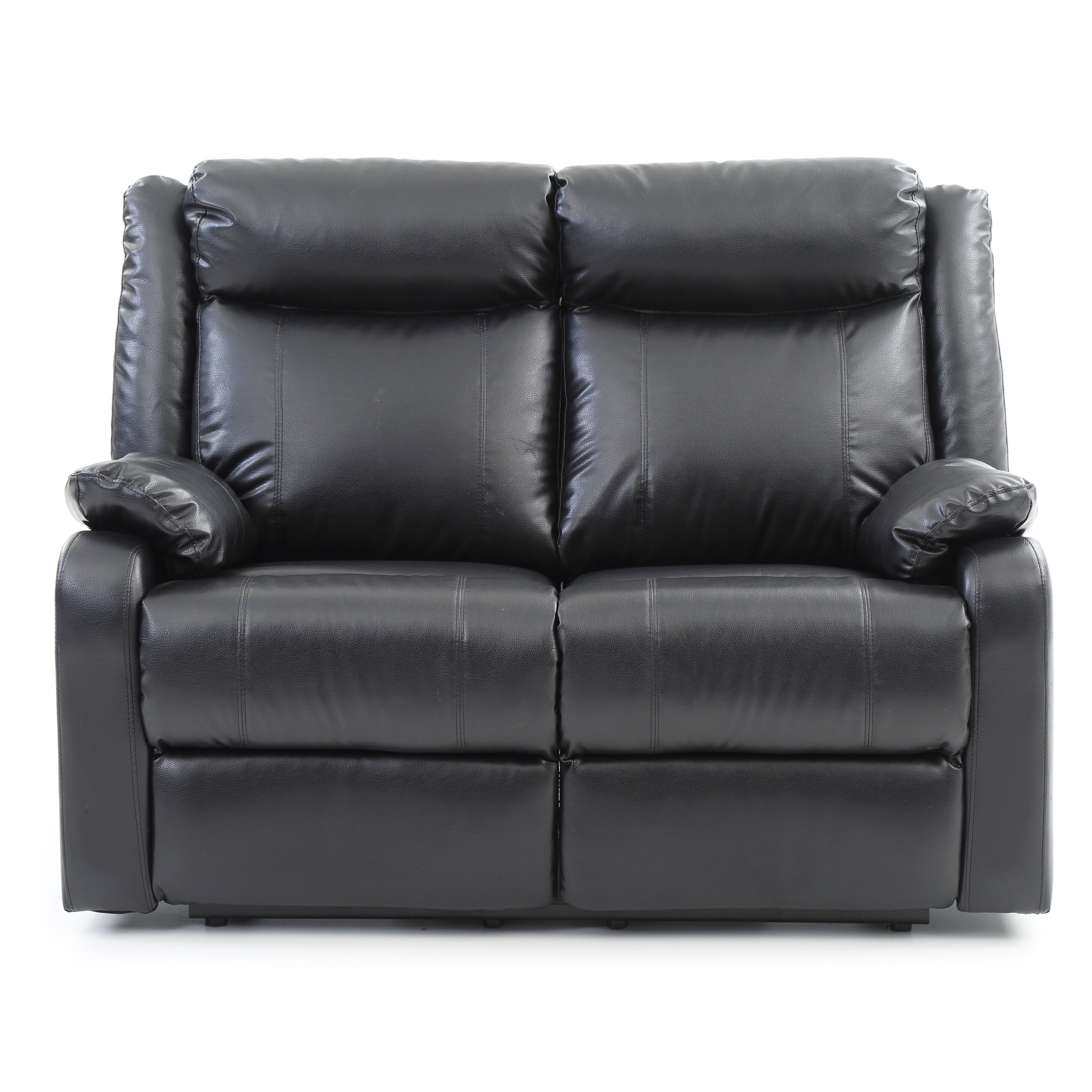 Glory Furniture Boston Double Reclining Leather Loveseat Wayfair