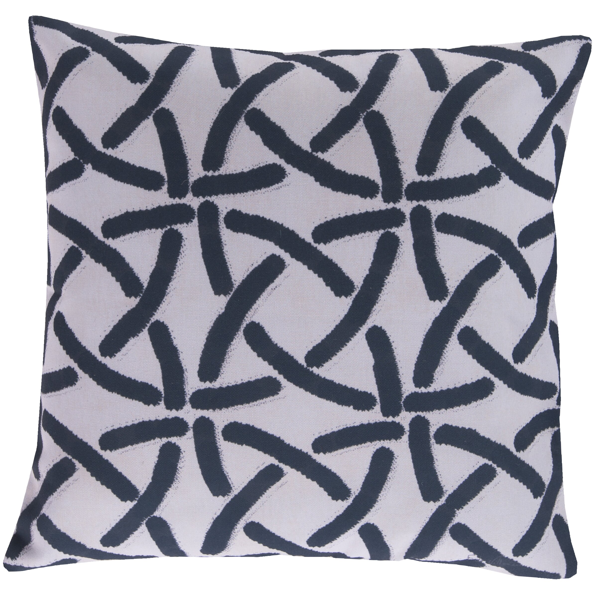 Surya Overlapping Circles Throw Pillow Wayfair
