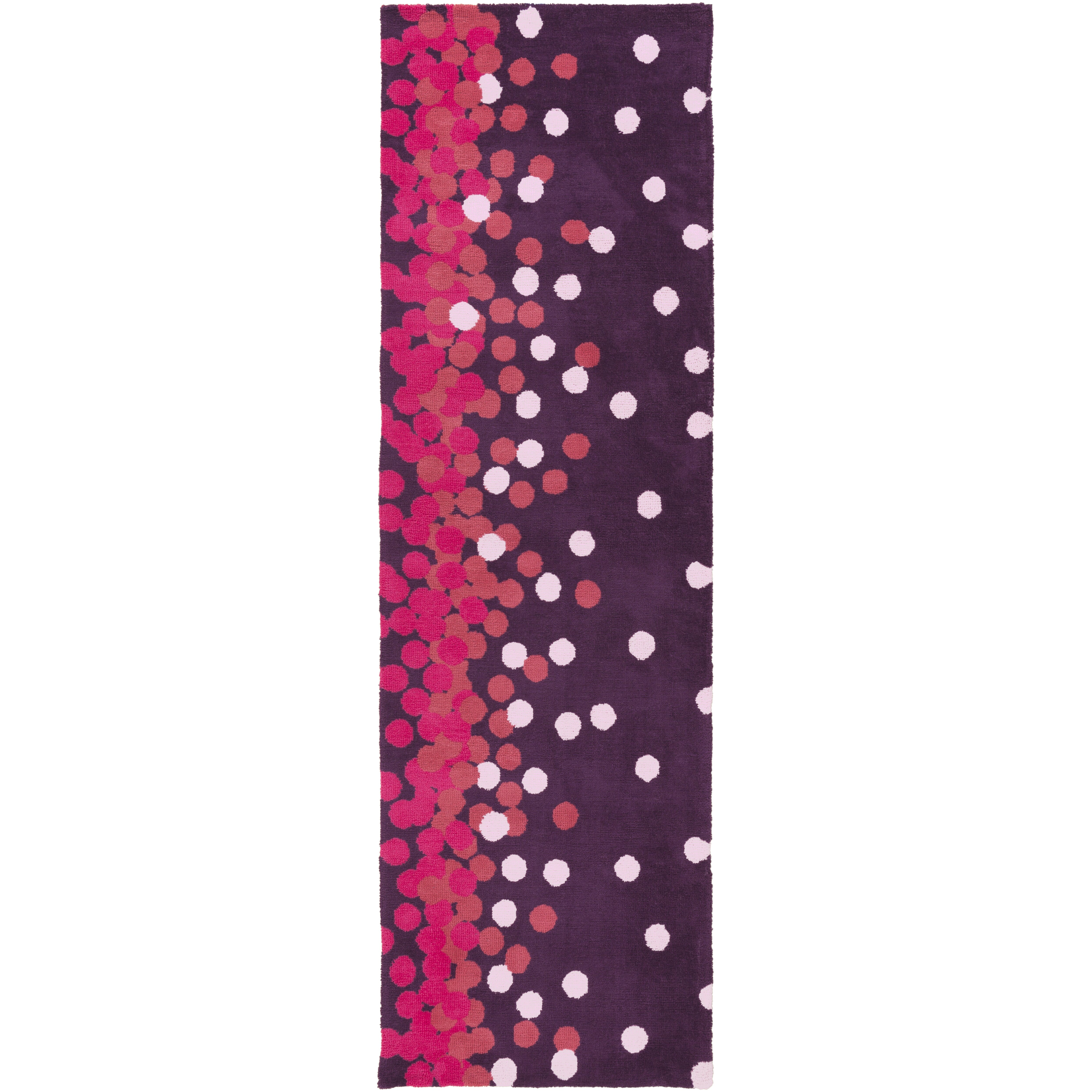 Xl Purple Rug: Surya Abigail Purple/Pink Area Rug & Reviews