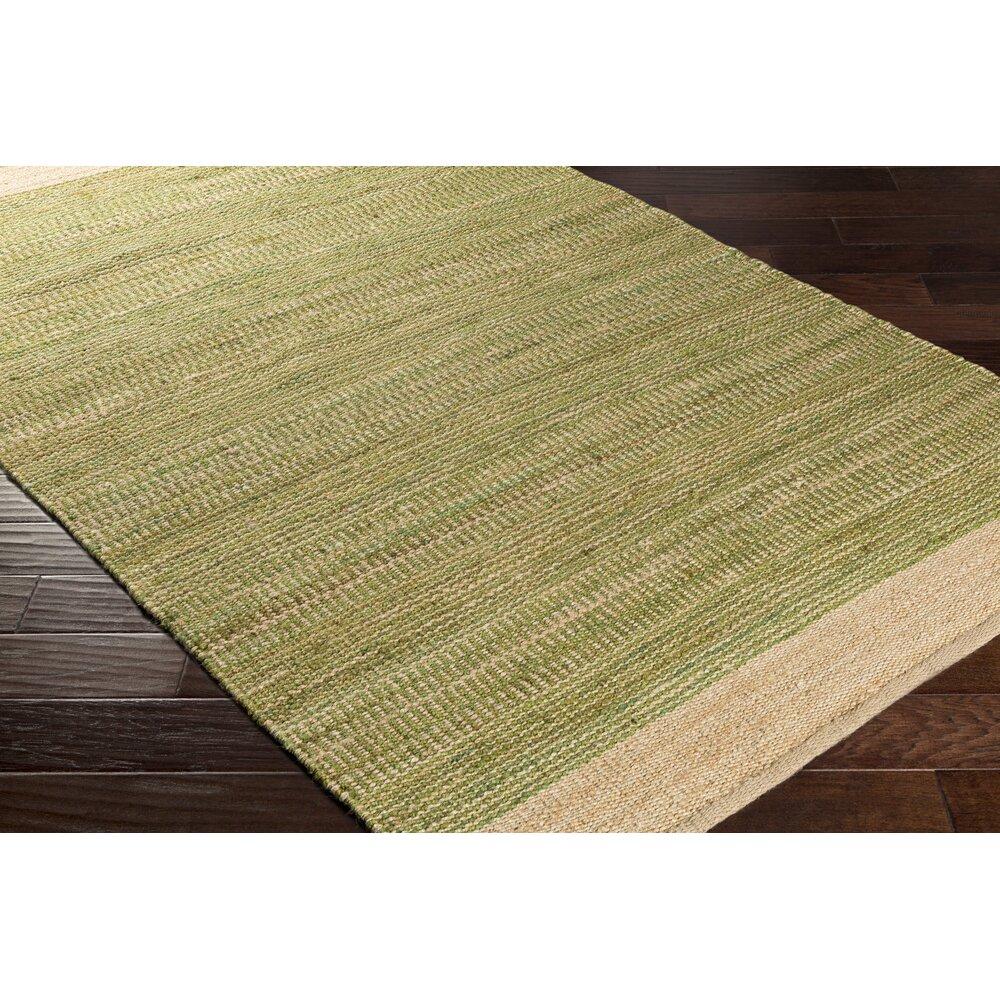 Surya Davidson Hand-Woven Grass Green/Khaki Area Rug
