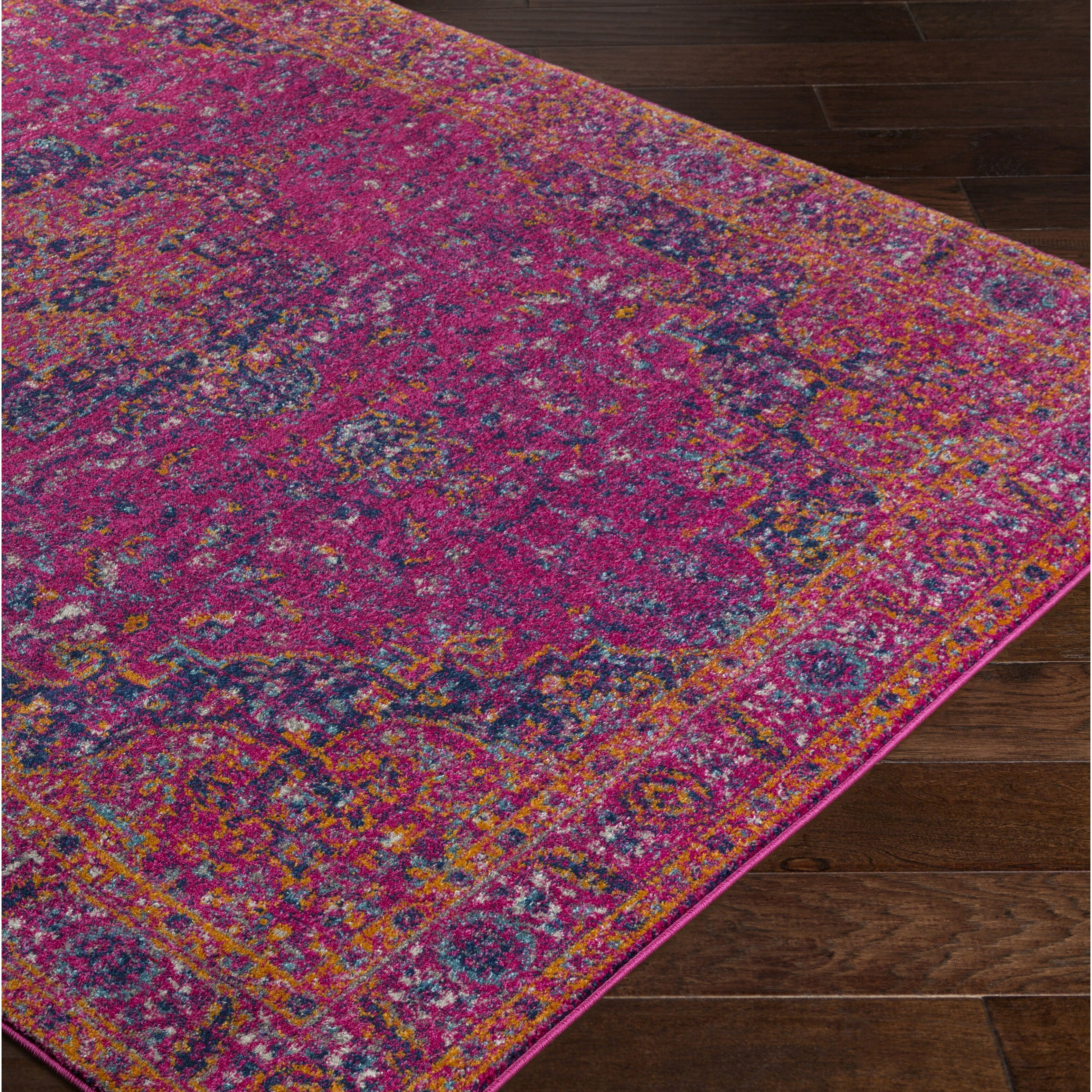 Purple And Lavender Rug: Bungalow Rose Andover Pink/Purple Area Rug & Reviews