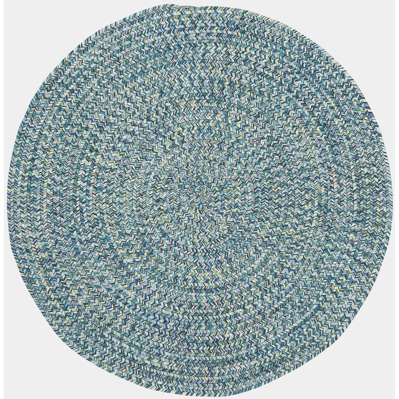 Capel Sea Pottery Blue Outdoor Area Rug & Reviews