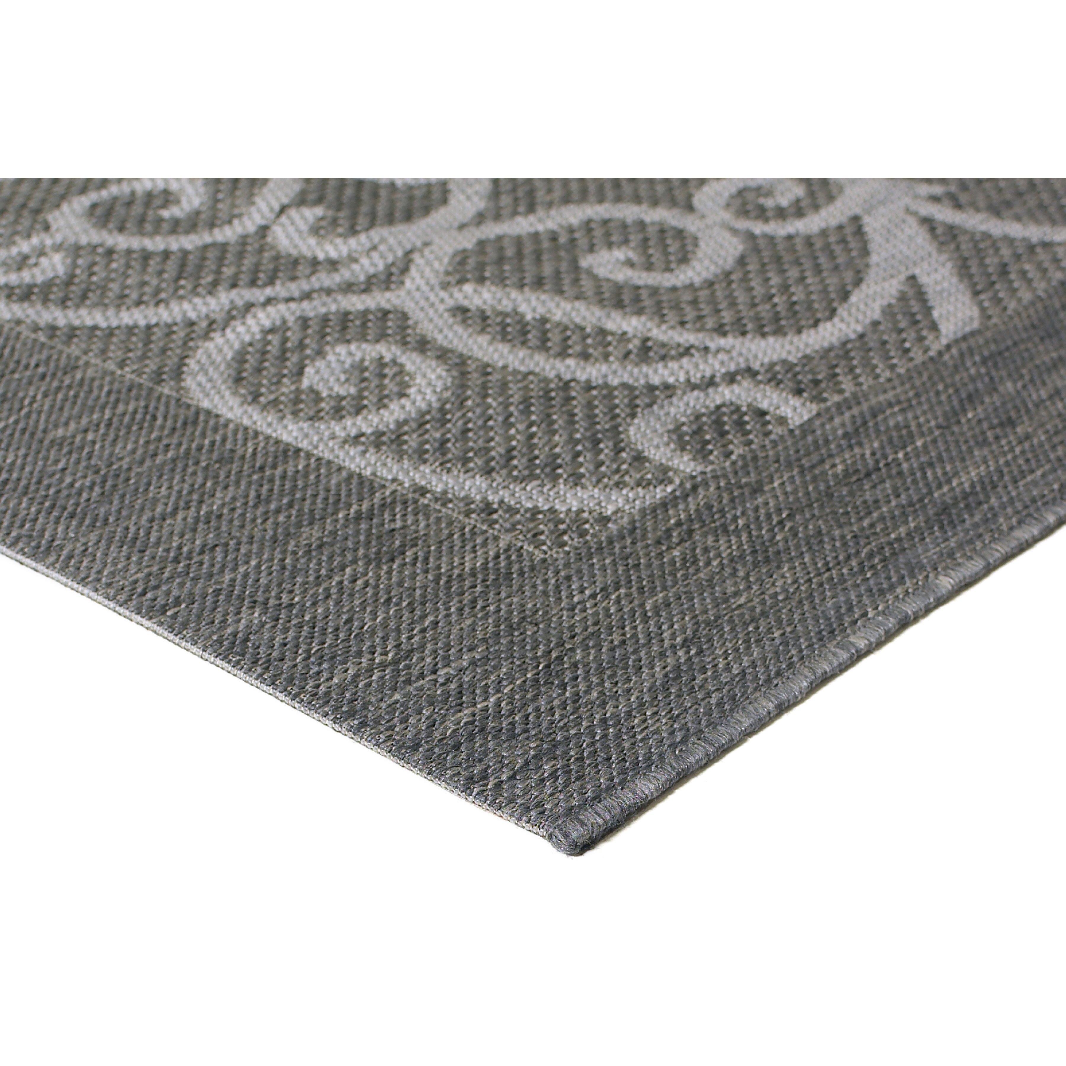 Balta charleston grey indoor outdoor area rug reviews for Landscape indoor area rug