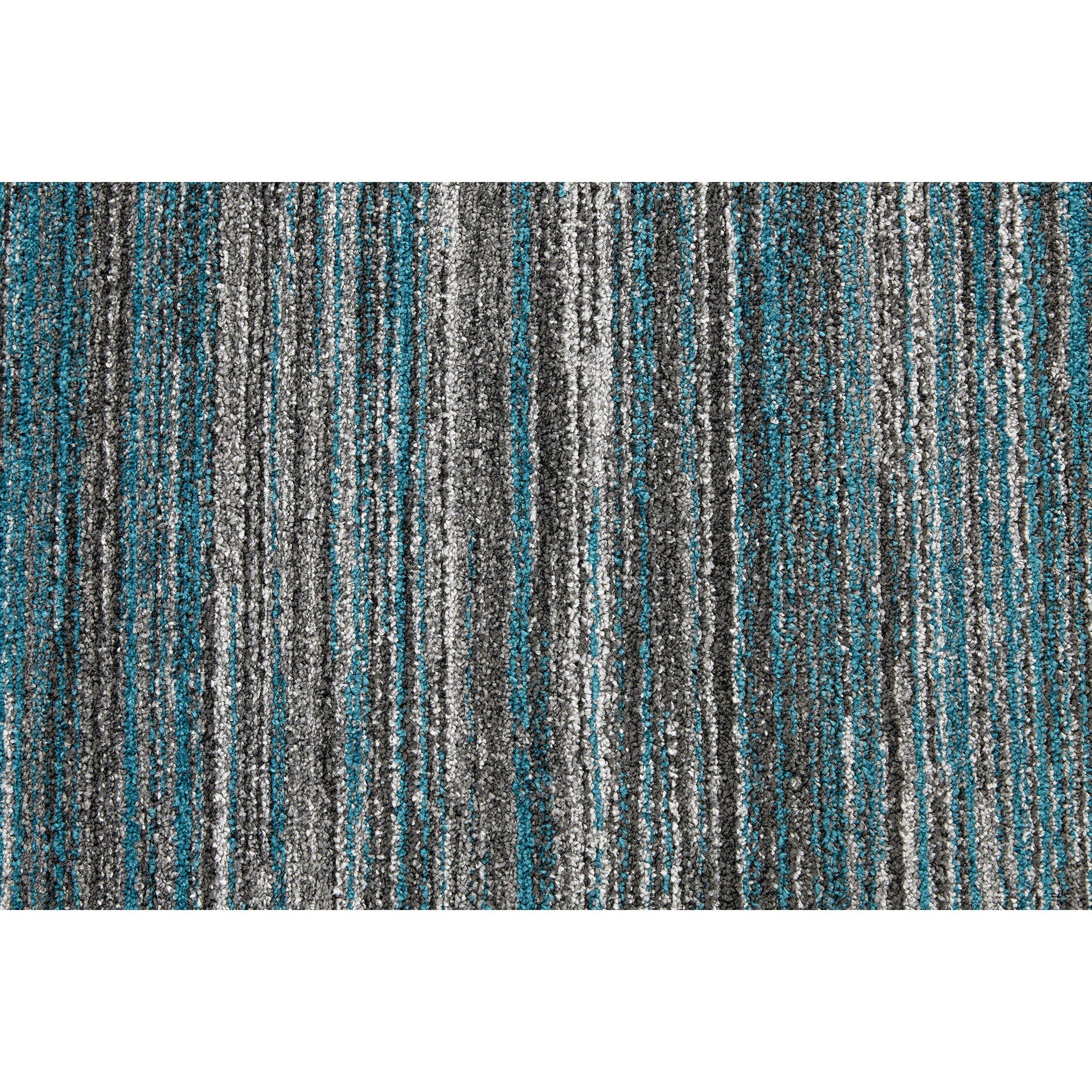 balta norwell gray blue area rug wayfair. Black Bedroom Furniture Sets. Home Design Ideas