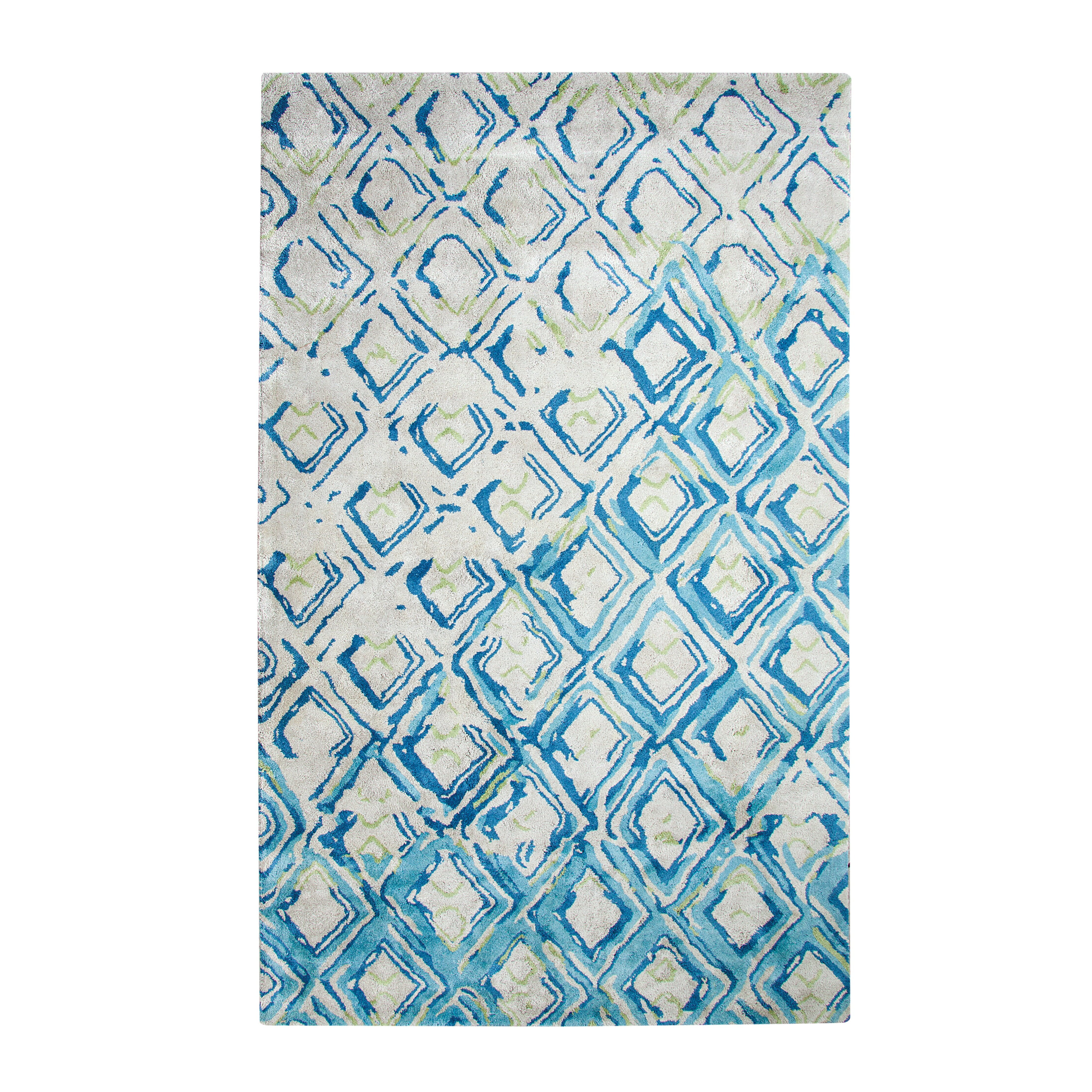 dynamic rugs vogue gray turquoise area rug reviews wayfair