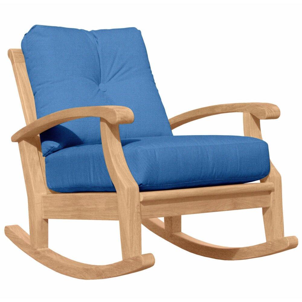 Douglas Nance Cayman Deep Seating Rocking Chair with Cushion  Wayfair