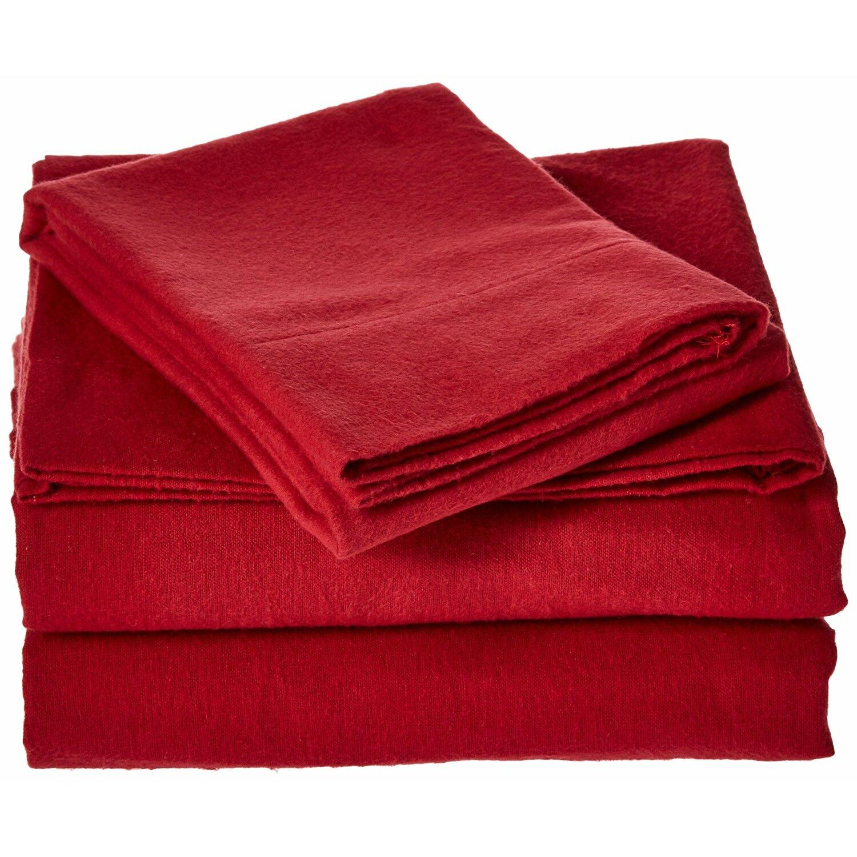 Brielle 100 Cotton Flannel Sheet Set Amp Reviews Wayfair