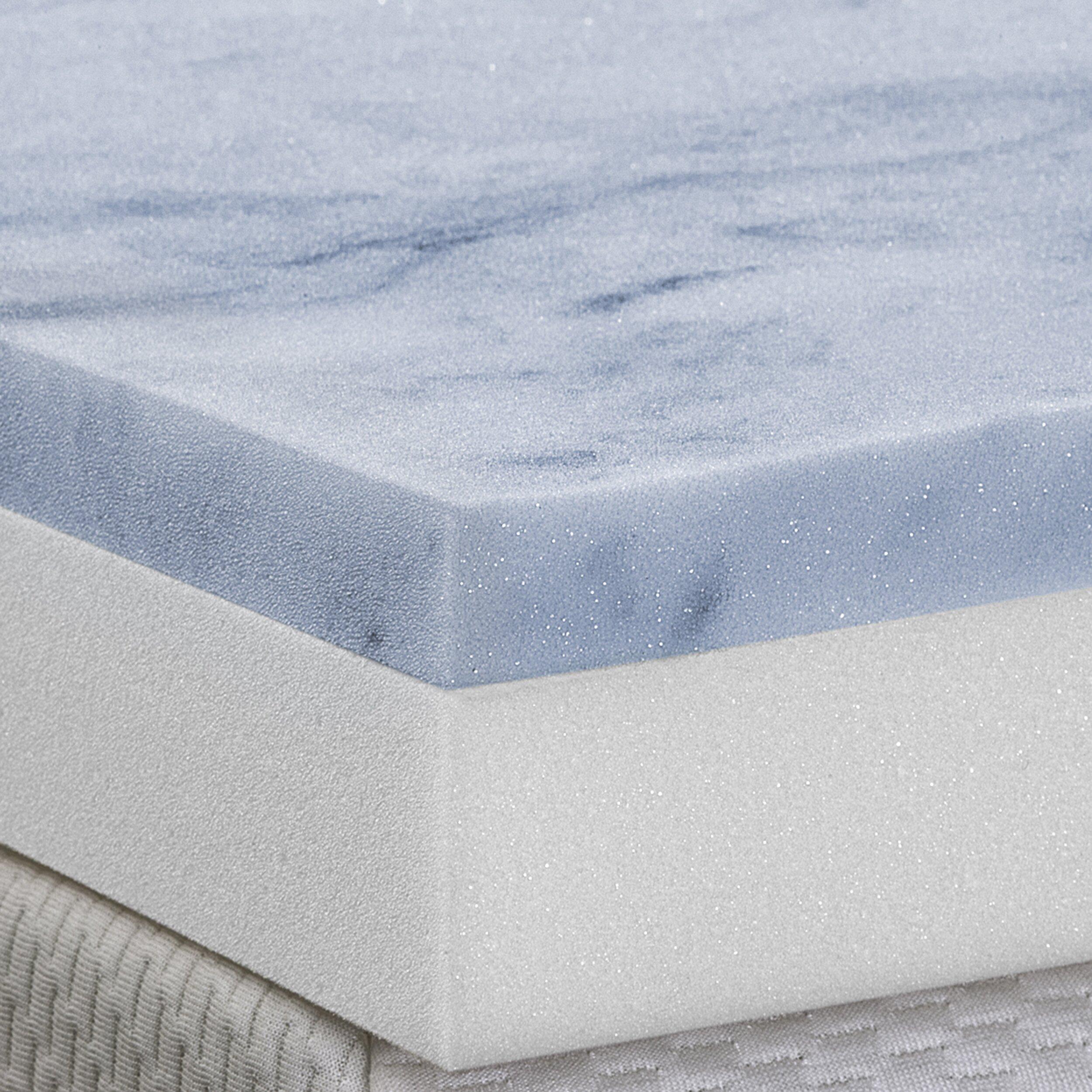Serenia Sleep 3 Quot Gel Memory Foam 2 Layer Topper Amp Reviews