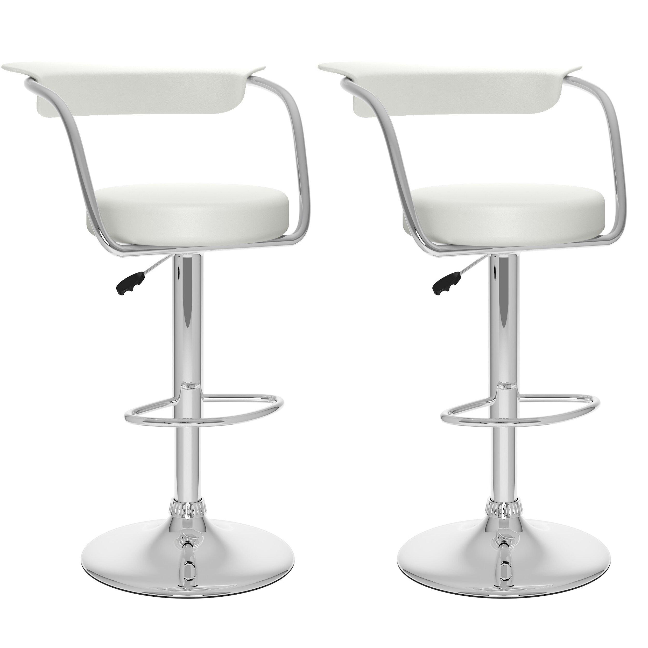 Dcor design adjustable height swivel bar stool reviews for Adjustable height bar stools
