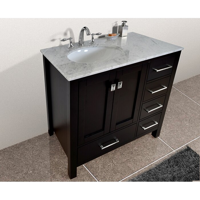 Dcor Design Embrey 36 Single Bathroom Vanity Set Reviews