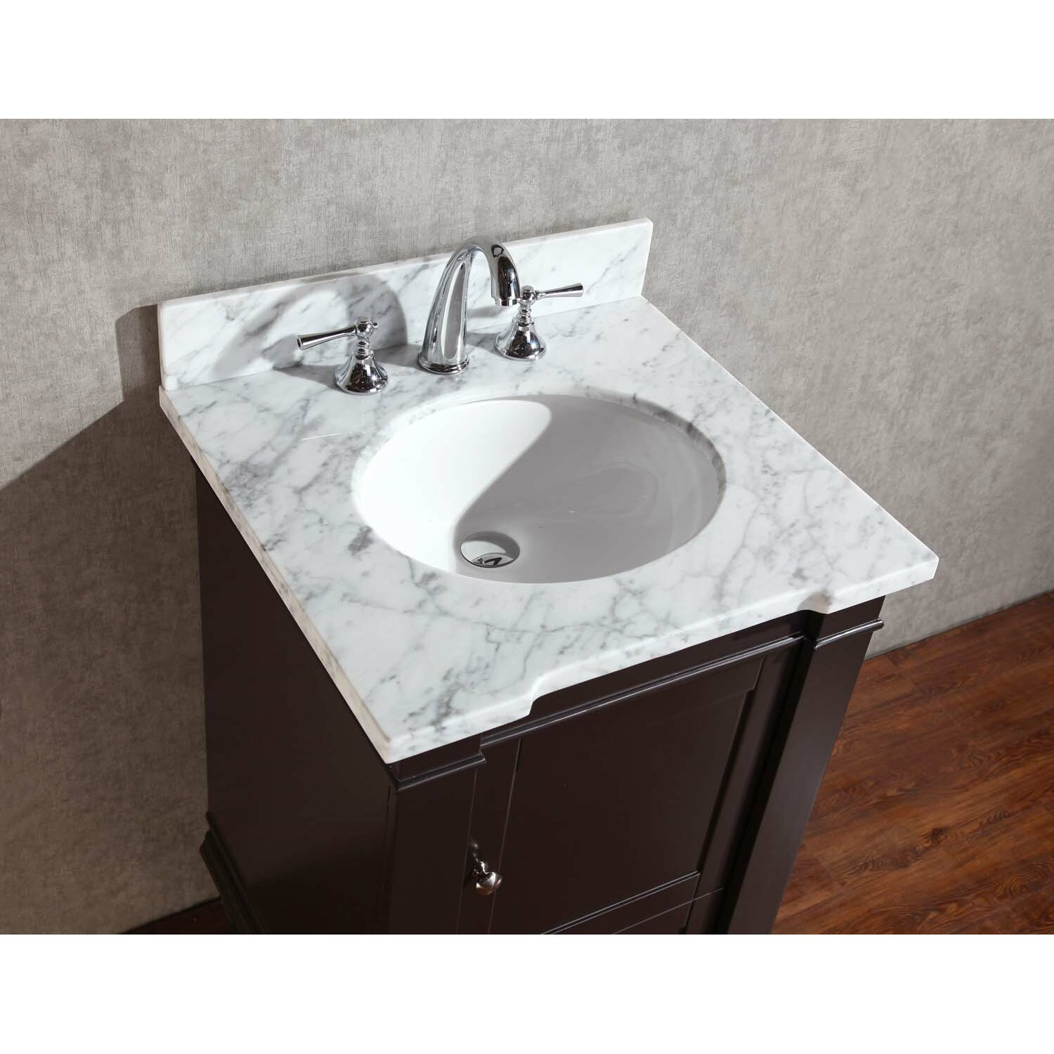 design anson 24 single sink bathroom vanity set with mirror wayfair