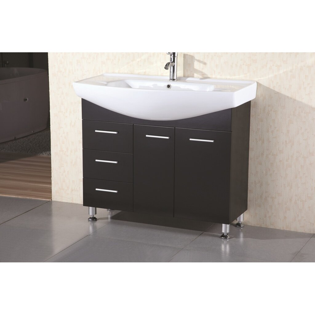 Dcor Design Dublin 40 Single Bathroom Vanity Set With Mirror Reviews Wayfair