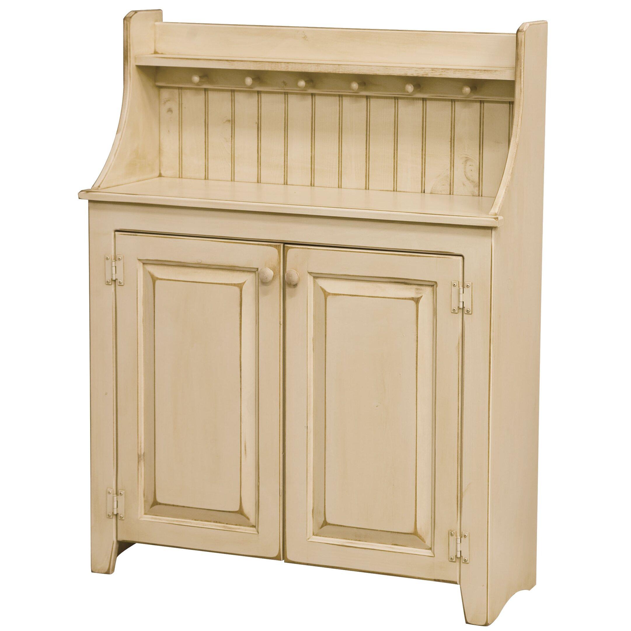 DCOR Design Peppers 2 Door Dry Sink Cabinet Wayfair