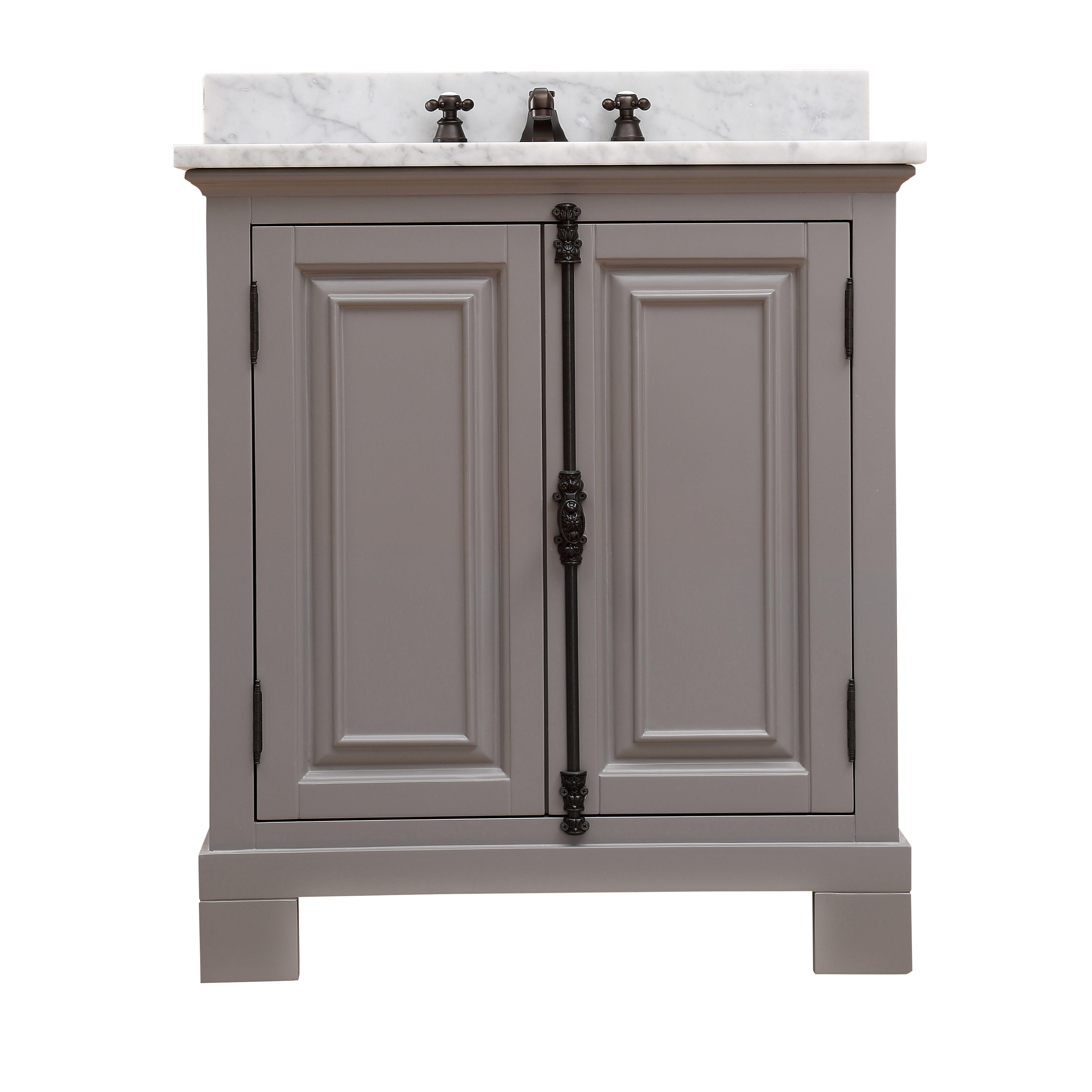 "dCOR design Freemont 30"" Single Bathroom Vanity Set"