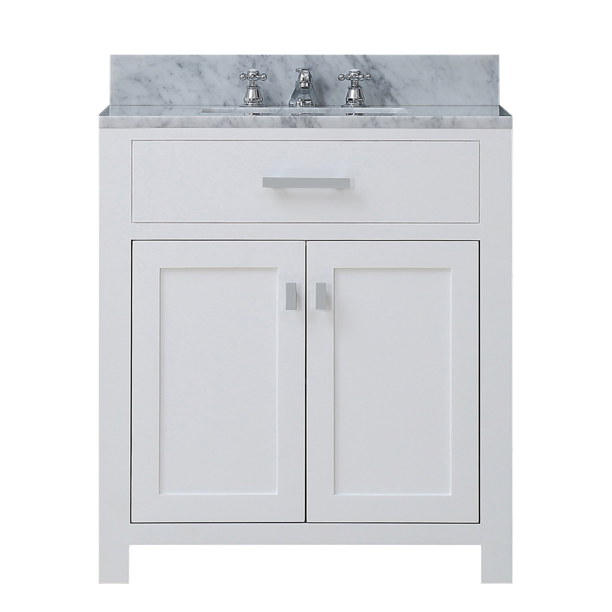 Dcor Design Creighton 30 Single Bathroom Vanity Set Reviews Wayfair
