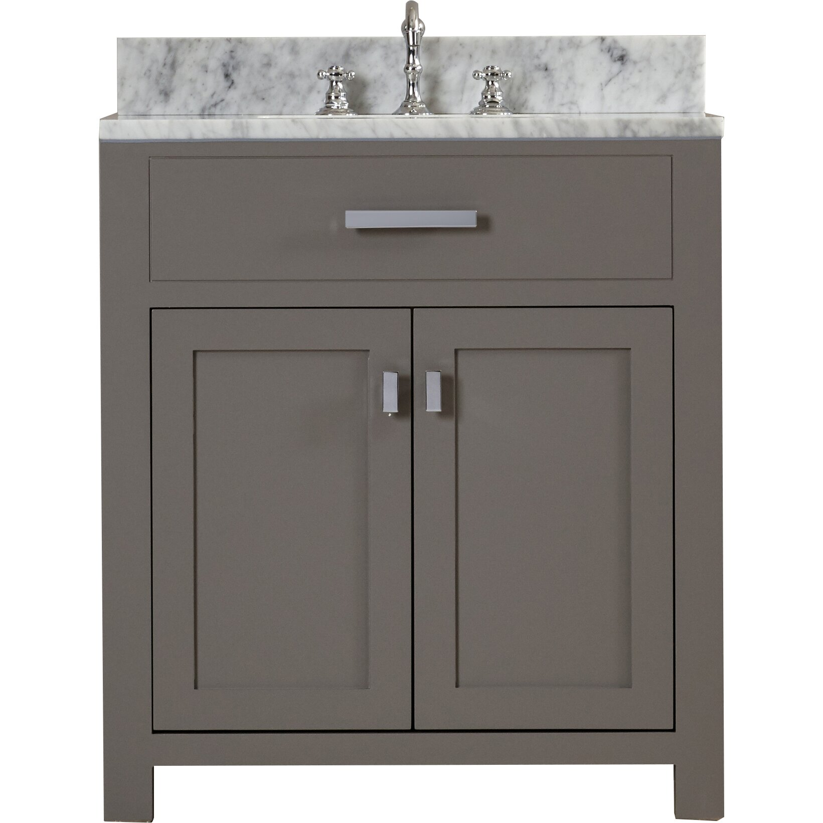 Dcor design creighton 30 single sink bathroom vanity set - 30 inch single sink bathroom vanity ...
