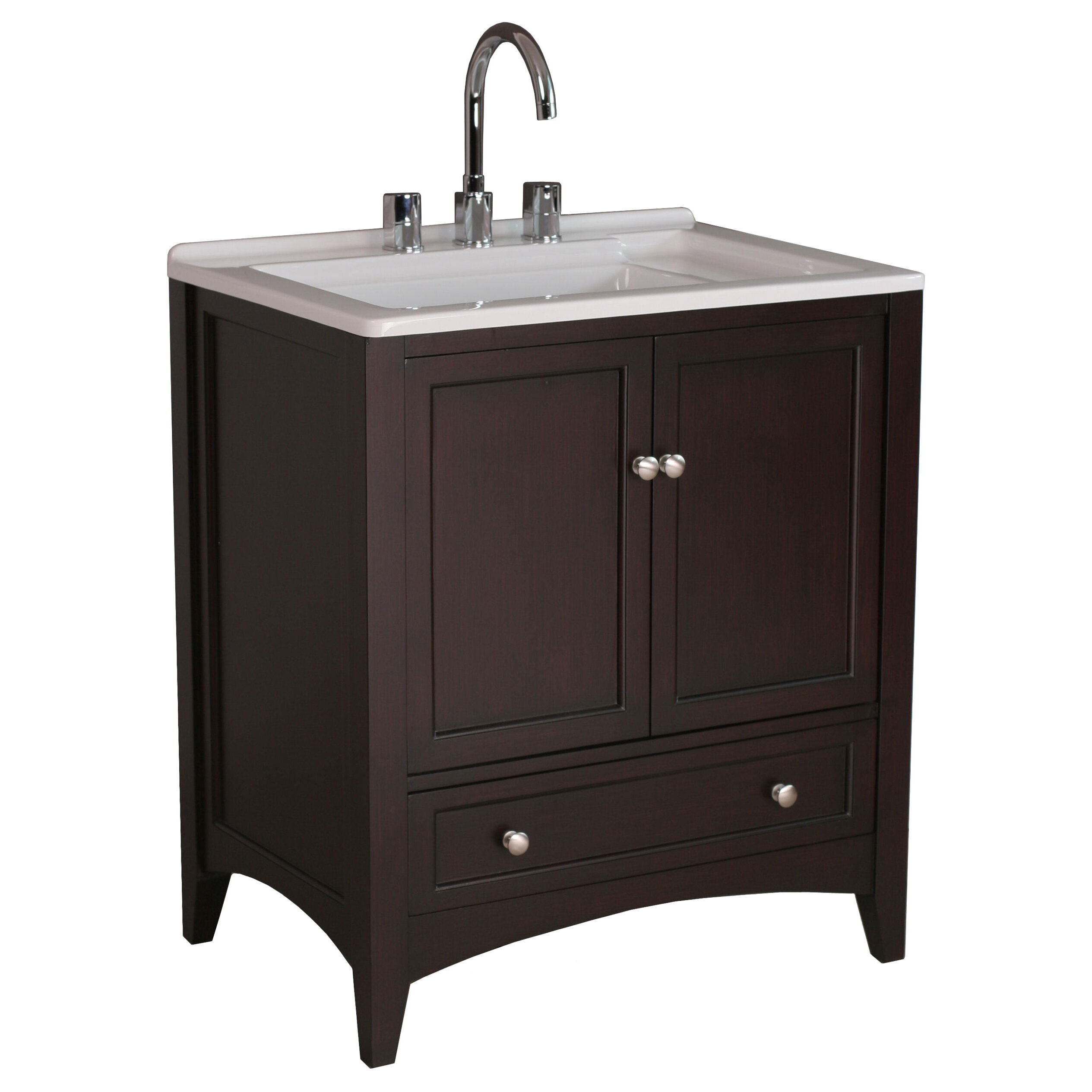 Dcor Design Savoy 31 Single Bathroom Vanity Set Reviews