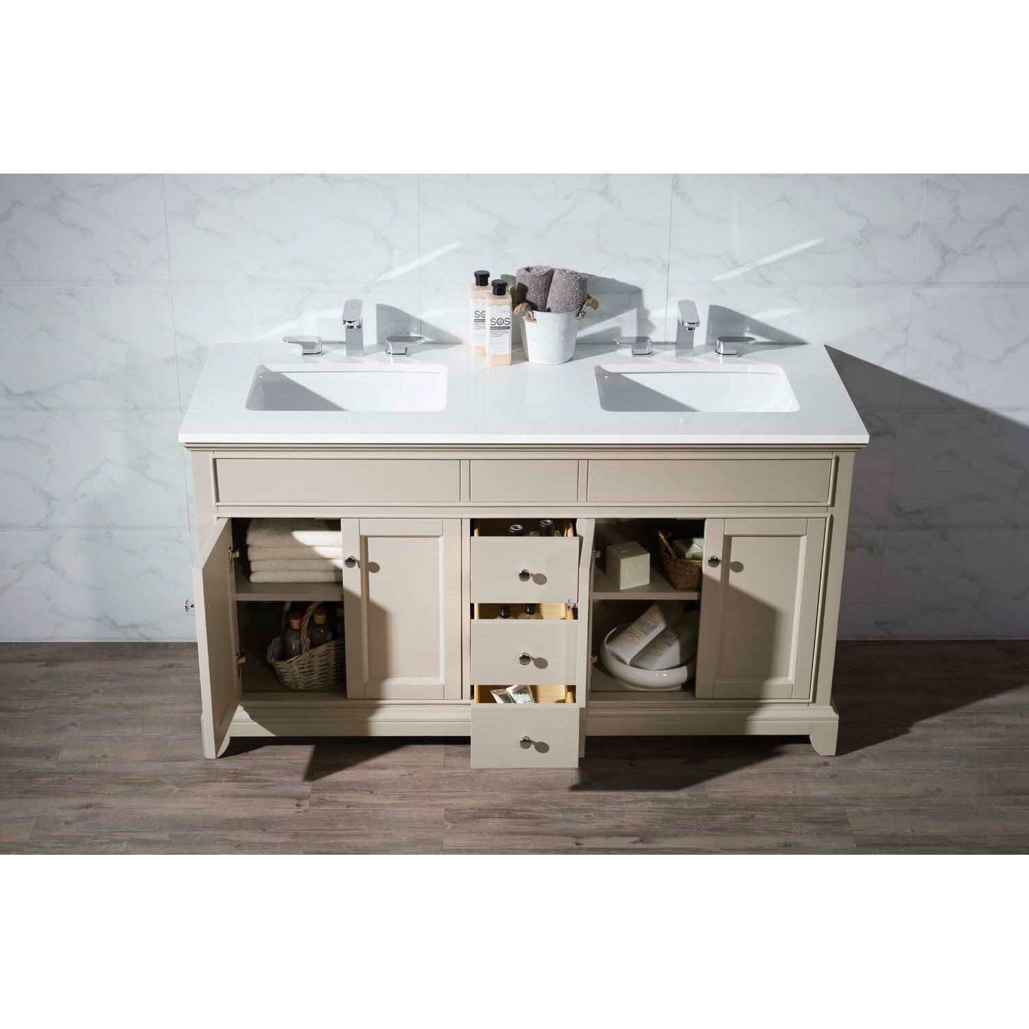 Dcor Design Dyer 59 Single Bathroom Vanity Set Wayfair