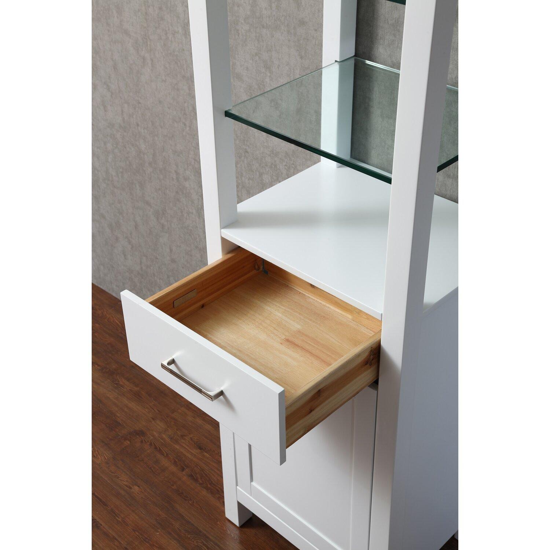"Wayfair Free Standing Kitchen Cabinets: DCOR Design Kenya 20"" X 70"" Free Standing Linen Cabinet"