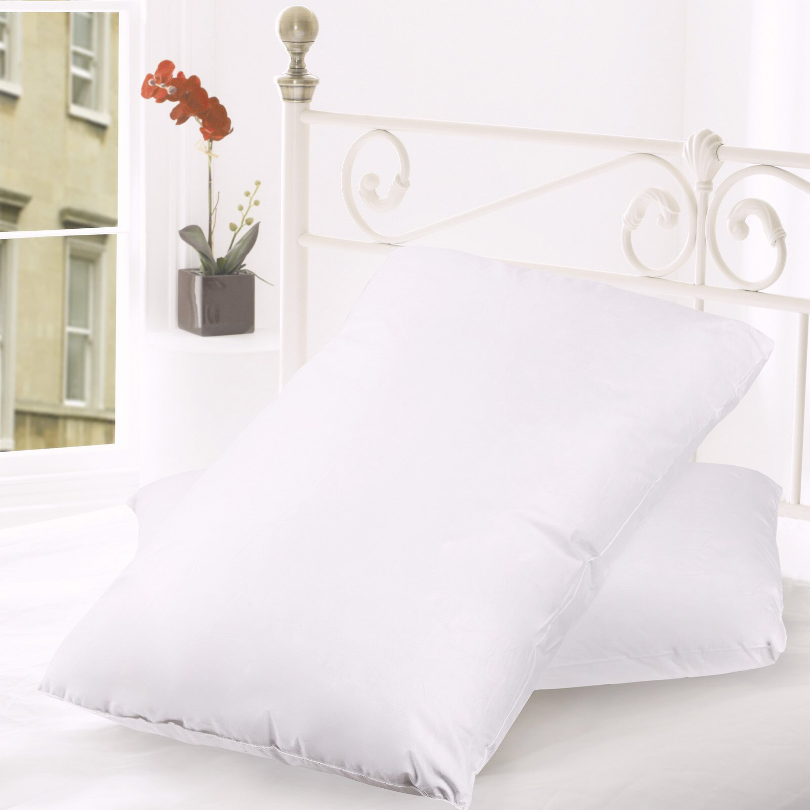 Sweet Home Collection Premium Goose Down And Feather Bed