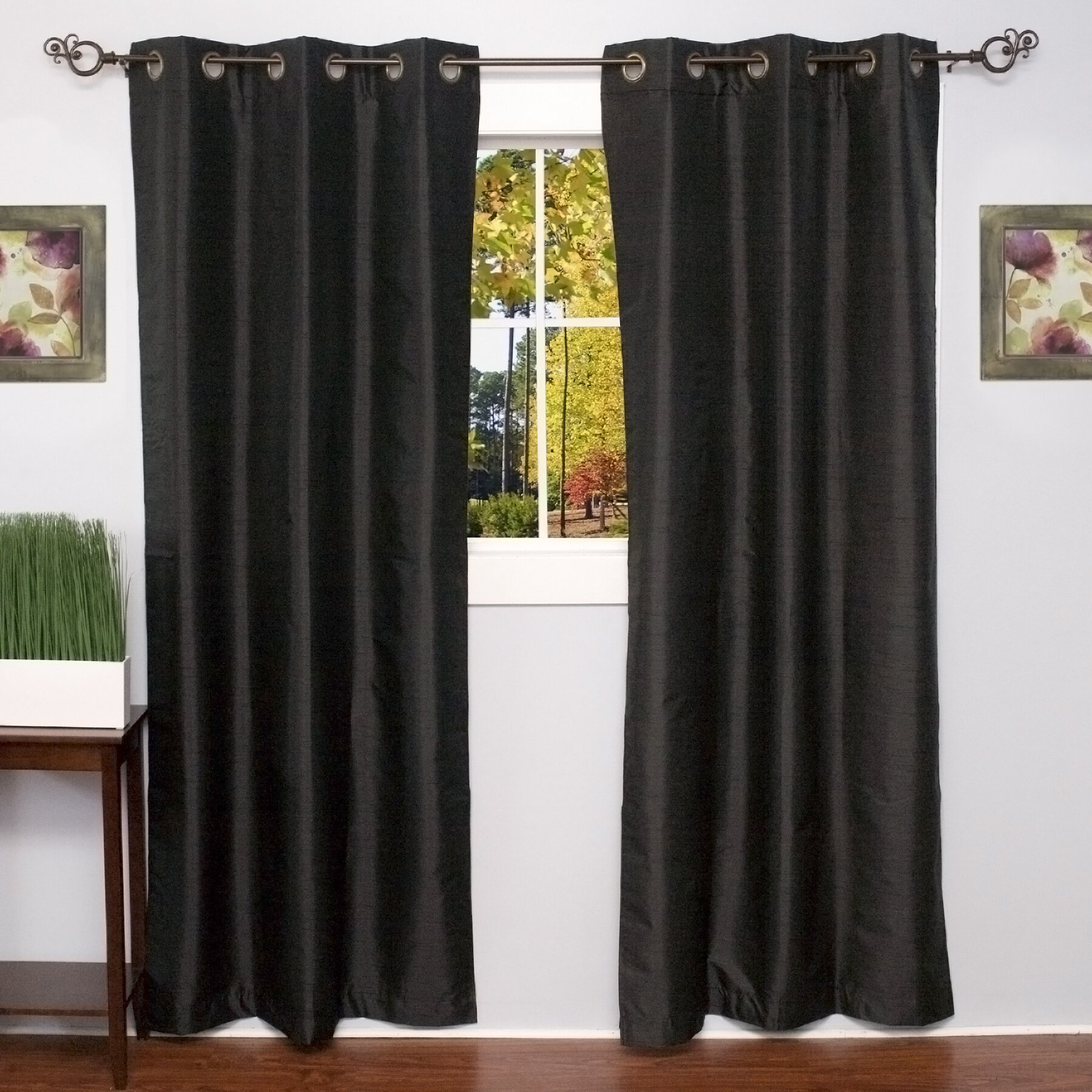 Sweet Home Collection Curtain Panel & Reviews | Wayfair