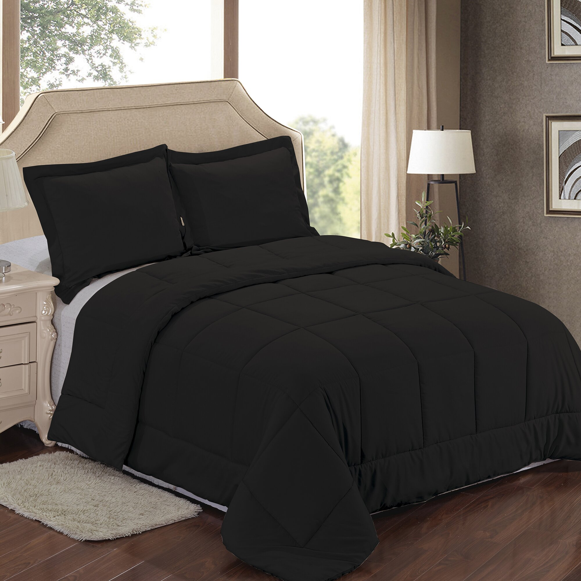 Sweet Home Collection Comforter Set & Reviews | Wayfair