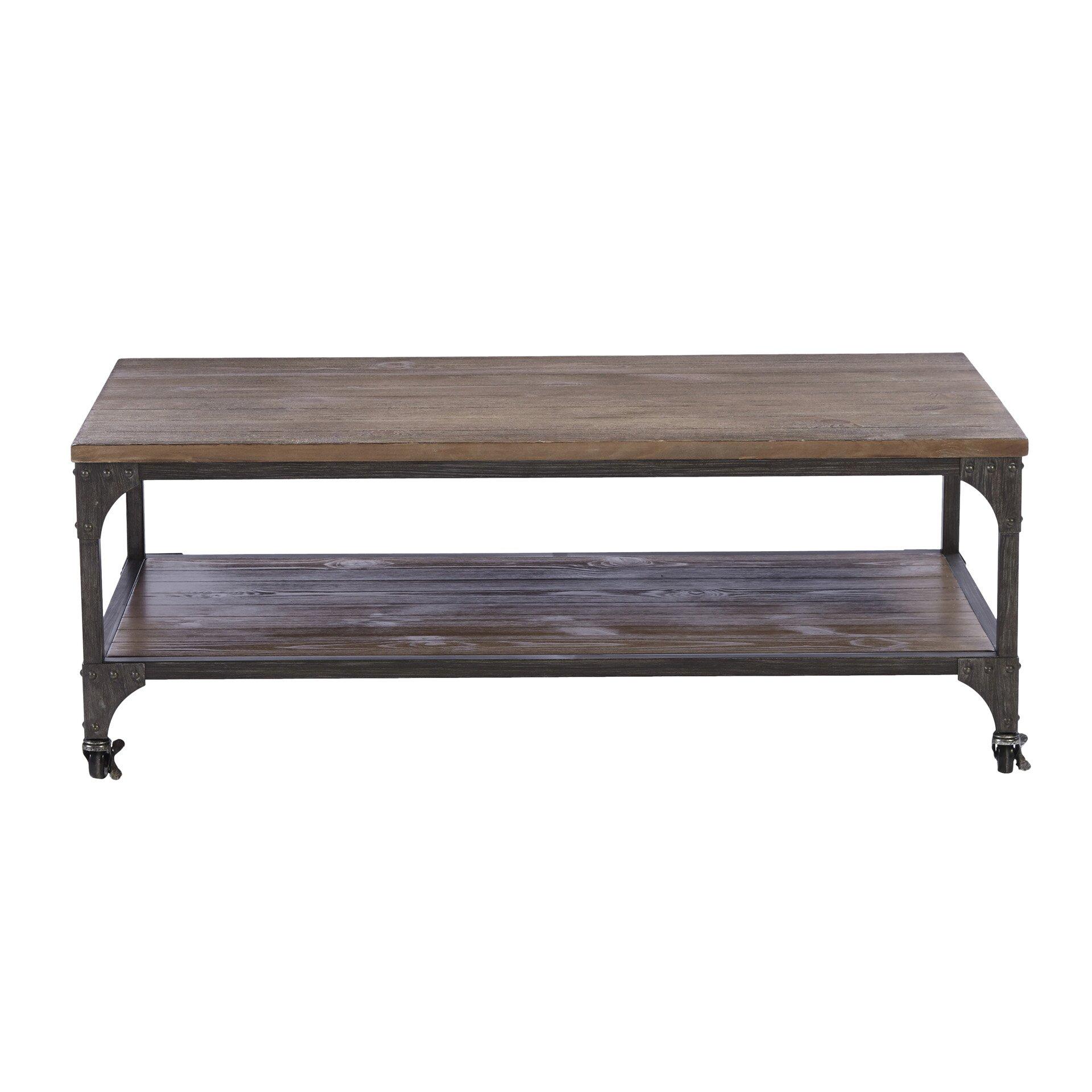 Mercury row ioanna coffee table reviews Furniture row coffee table