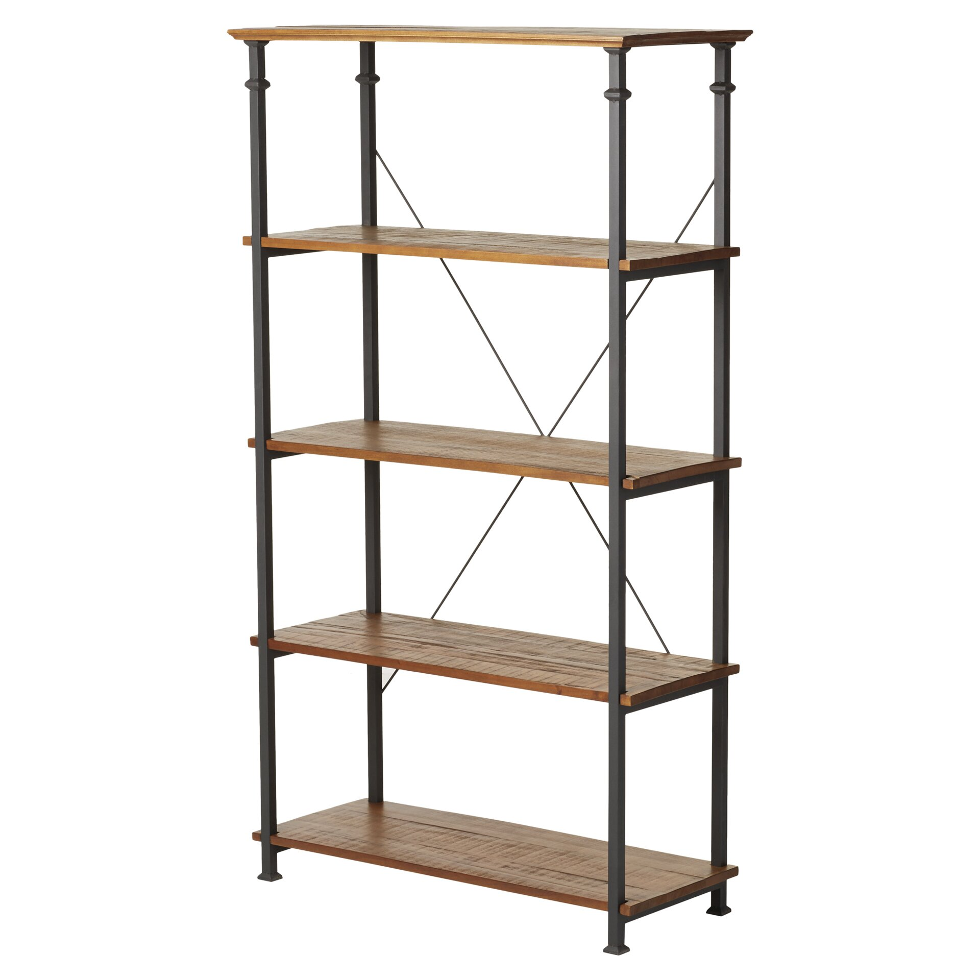 mercury row lucina 72 etagere bookcase reviews wayfair. Black Bedroom Furniture Sets. Home Design Ideas
