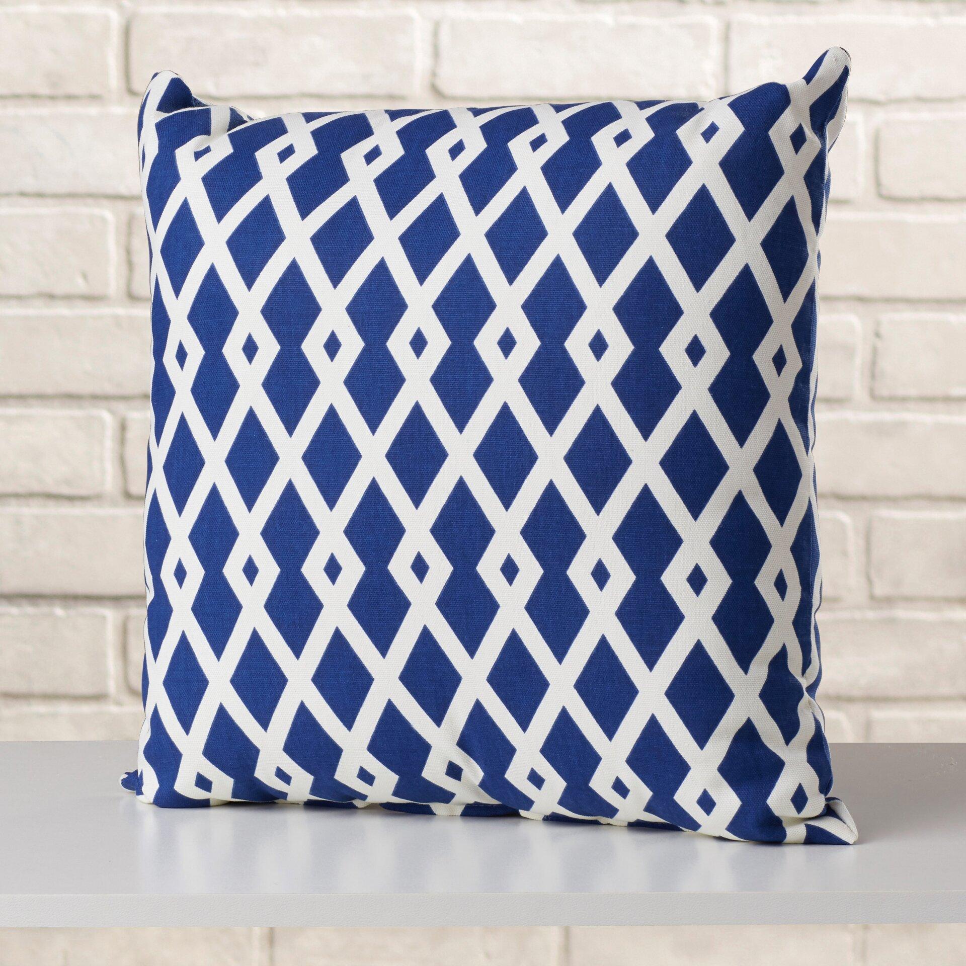 Mercury Row Adler Geometric Cotton Throw Pillow & Reviews Wayfair.ca