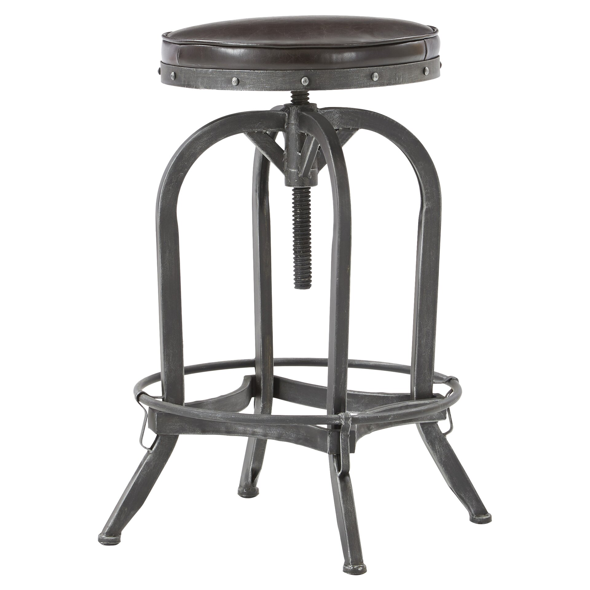 Mercury Row Adjustable Height Swivel Bar Stool Amp Reviews