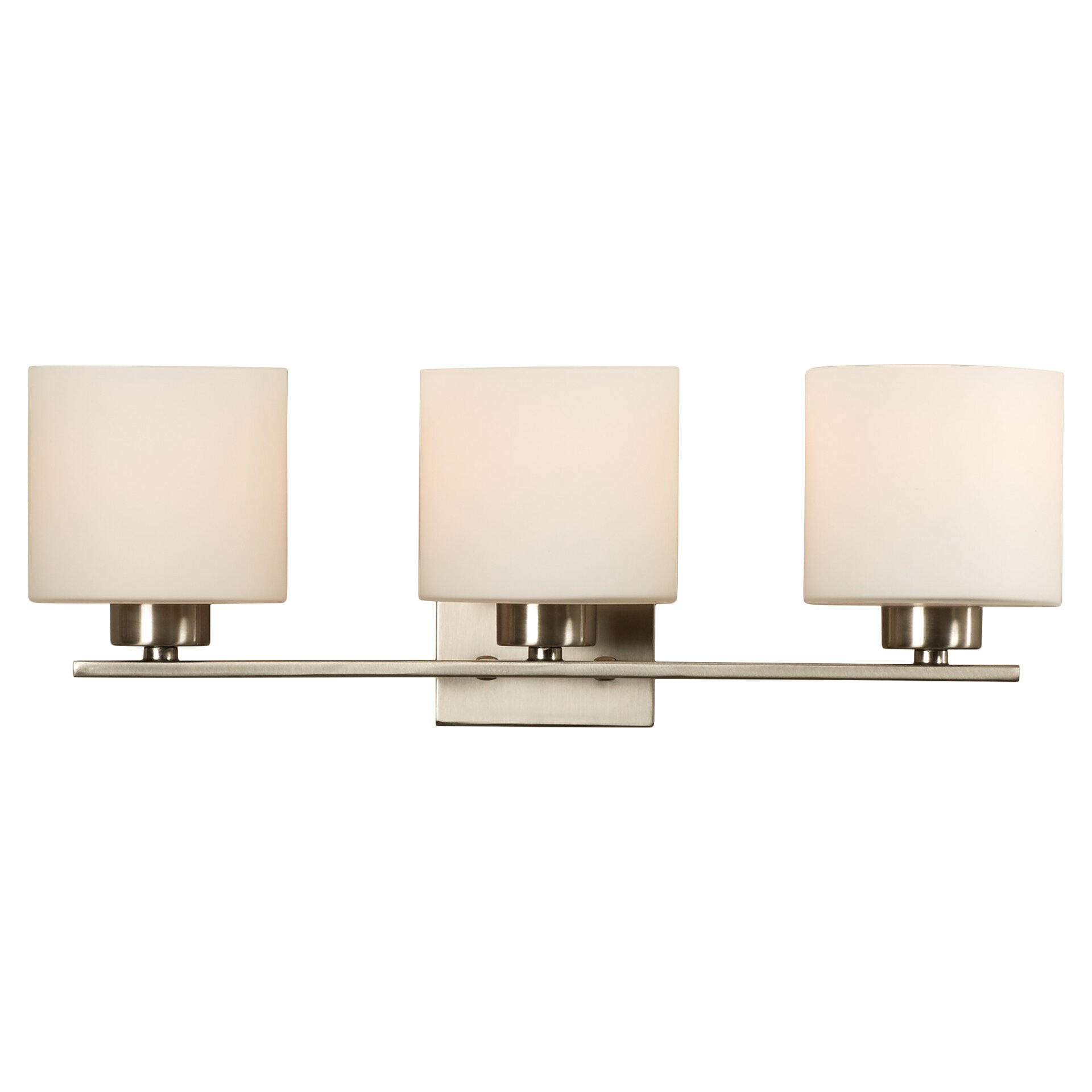 Mercury Row Odom 3 Light Vanity Light & Reviews Wayfair