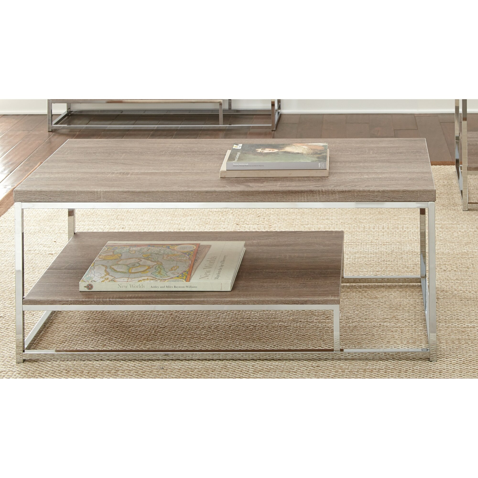 mercury row corona coffee table reviews. Black Bedroom Furniture Sets. Home Design Ideas