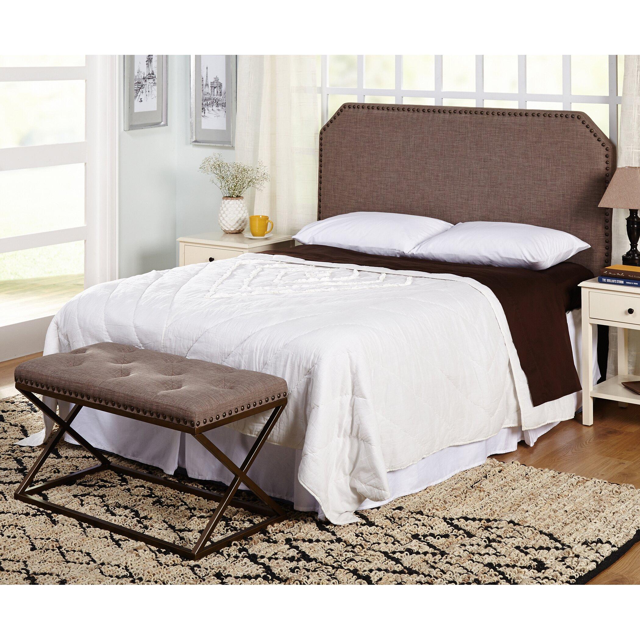 Mercury Row Tau Upholstered Bedroom Bench Reviews Wayfair