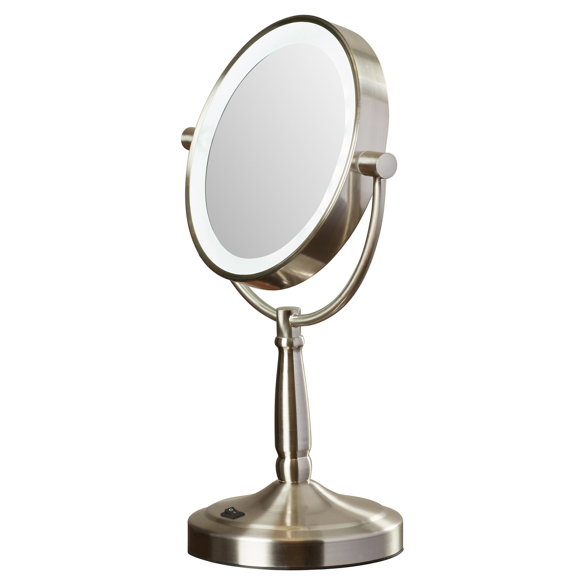 Vanity Planet Led Light Review : Mercury Row Hedy Vanity Mirror with LED Surround Light & Reviews Wayfair