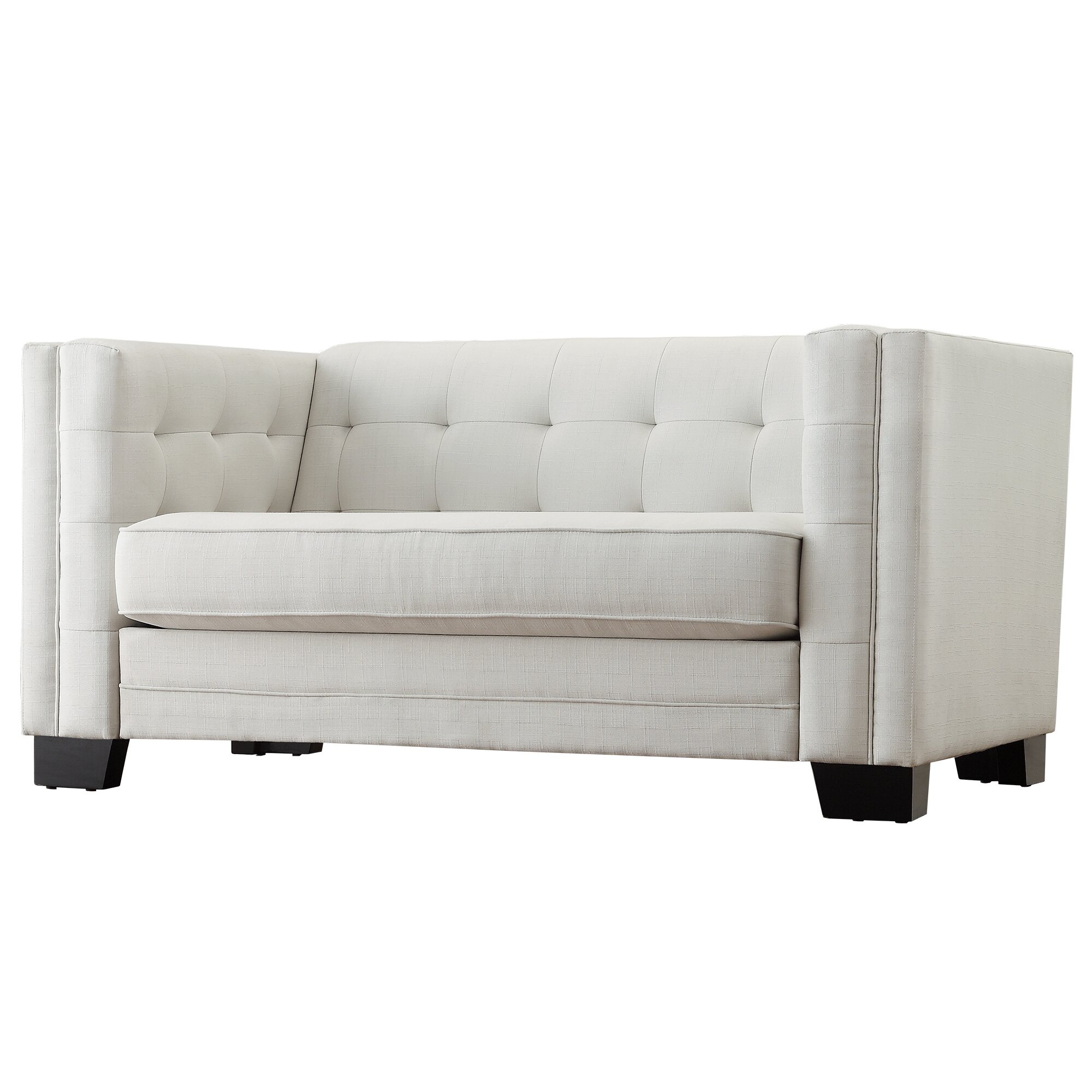 Mercury Row Vidette Tufted Upholstered Loveseat Reviews Wayfair