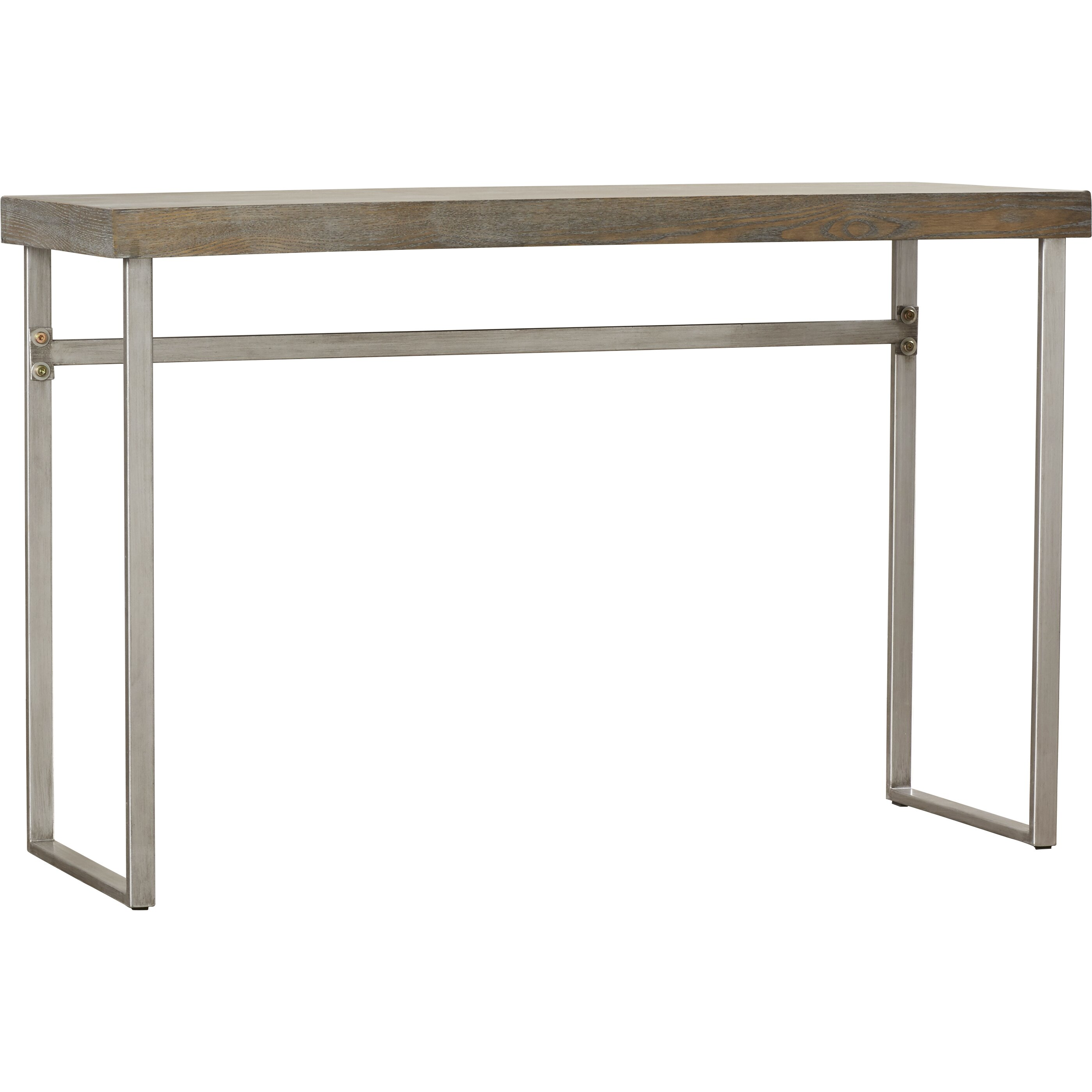 Mercury row ponticus console table reviews wayfair for Html table row