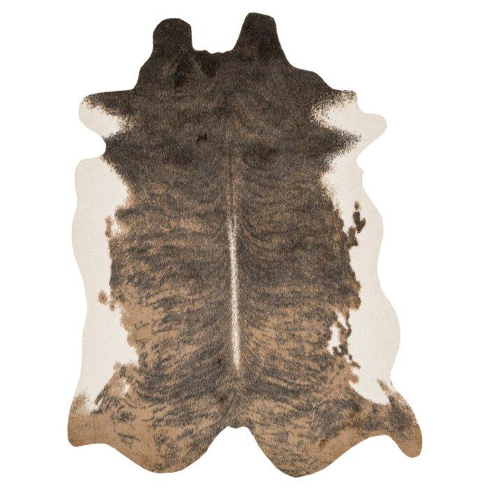 Animal Print Rug Wayfair: Mercury Row Cyrus Light Brown Area Rug & Reviews