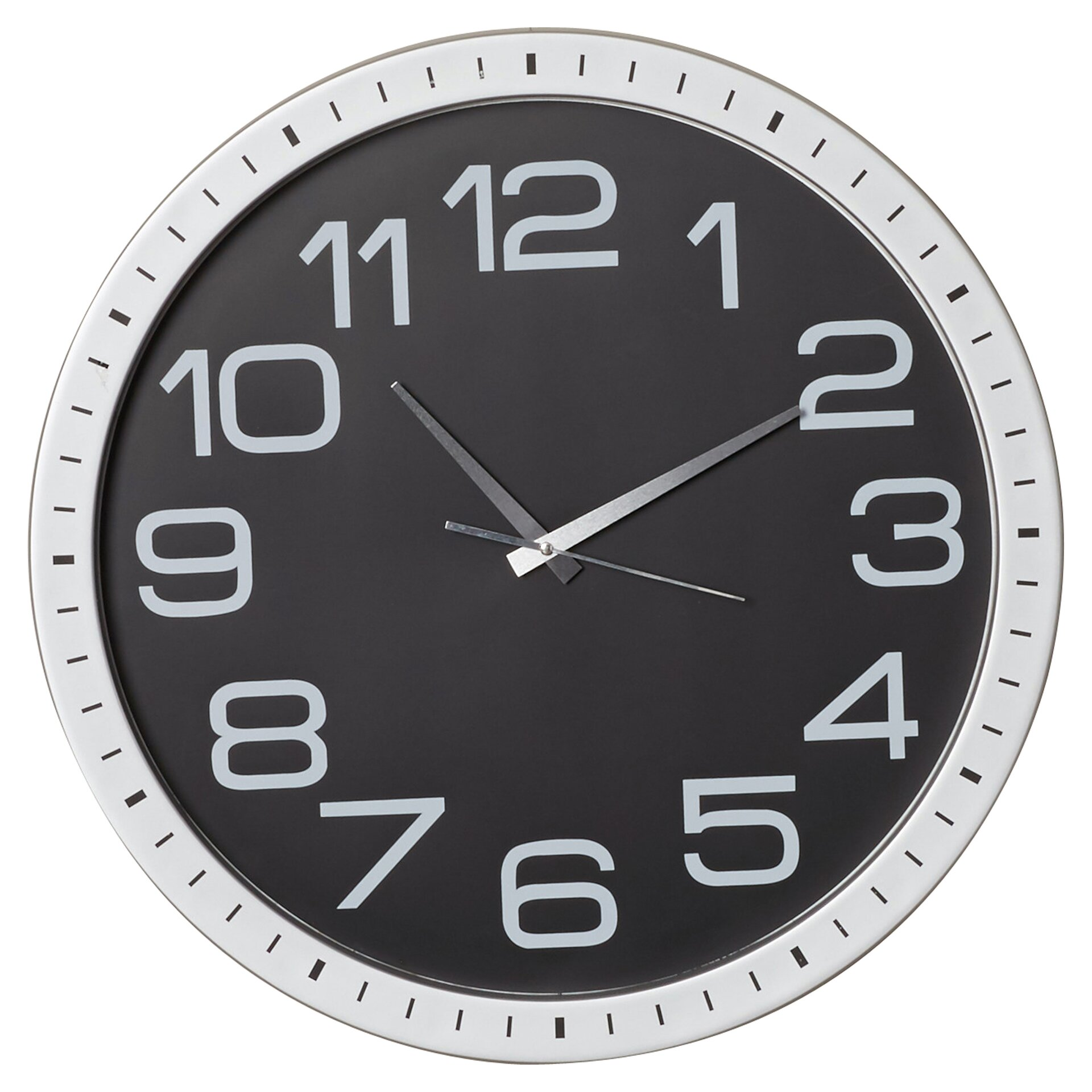 Mercury Row Ceto 22 Large Numbers Wall Clock Reviews