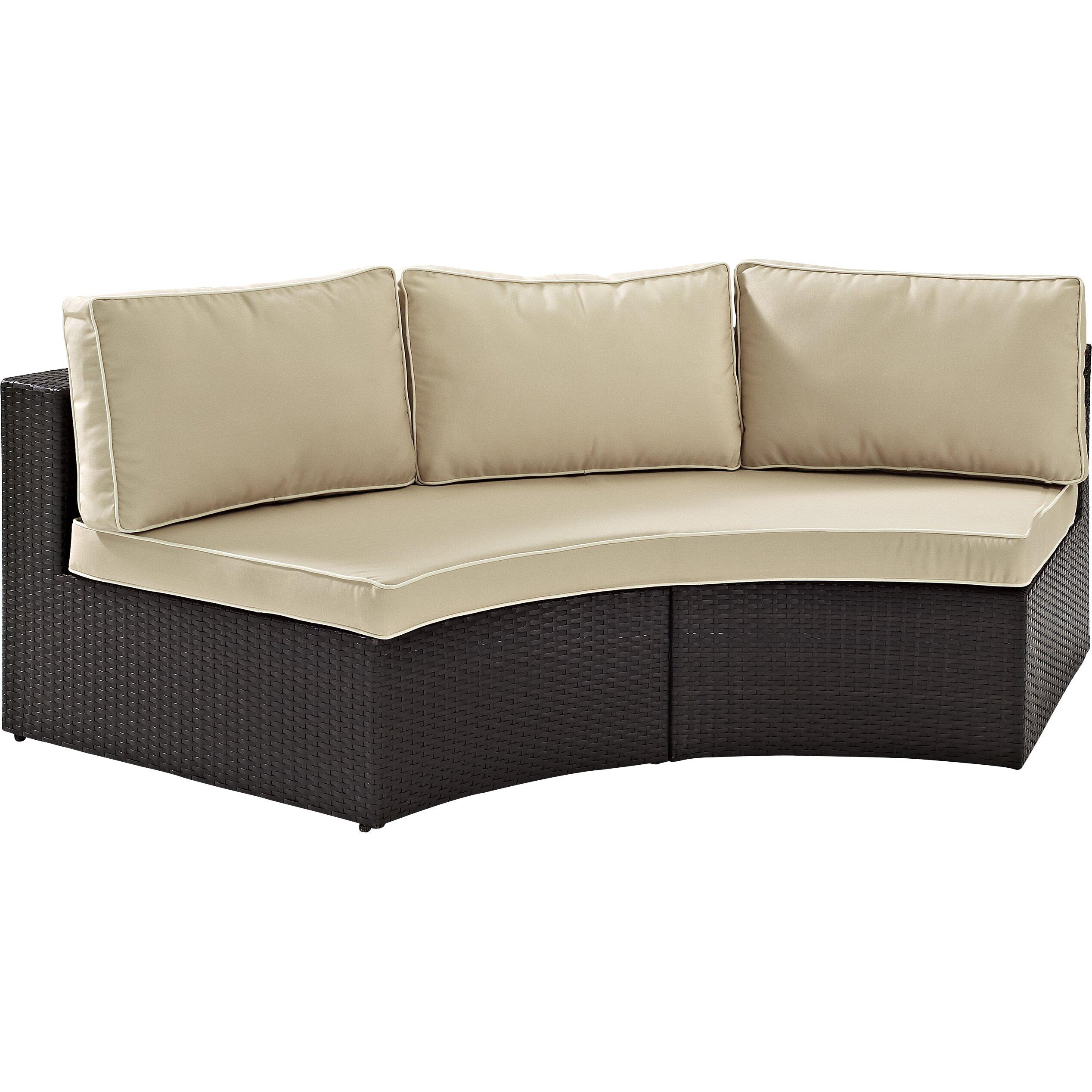 Mercury row cleopatra sofa with cushions reviews for Cleopatra sofa bed