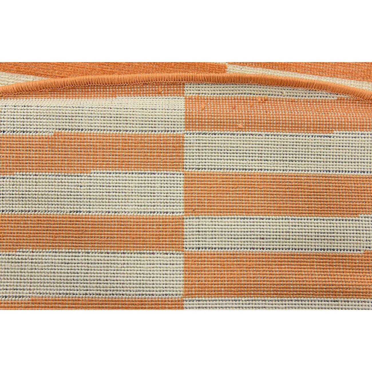 Mercury Row Braxton Orange Area Rug Reviews