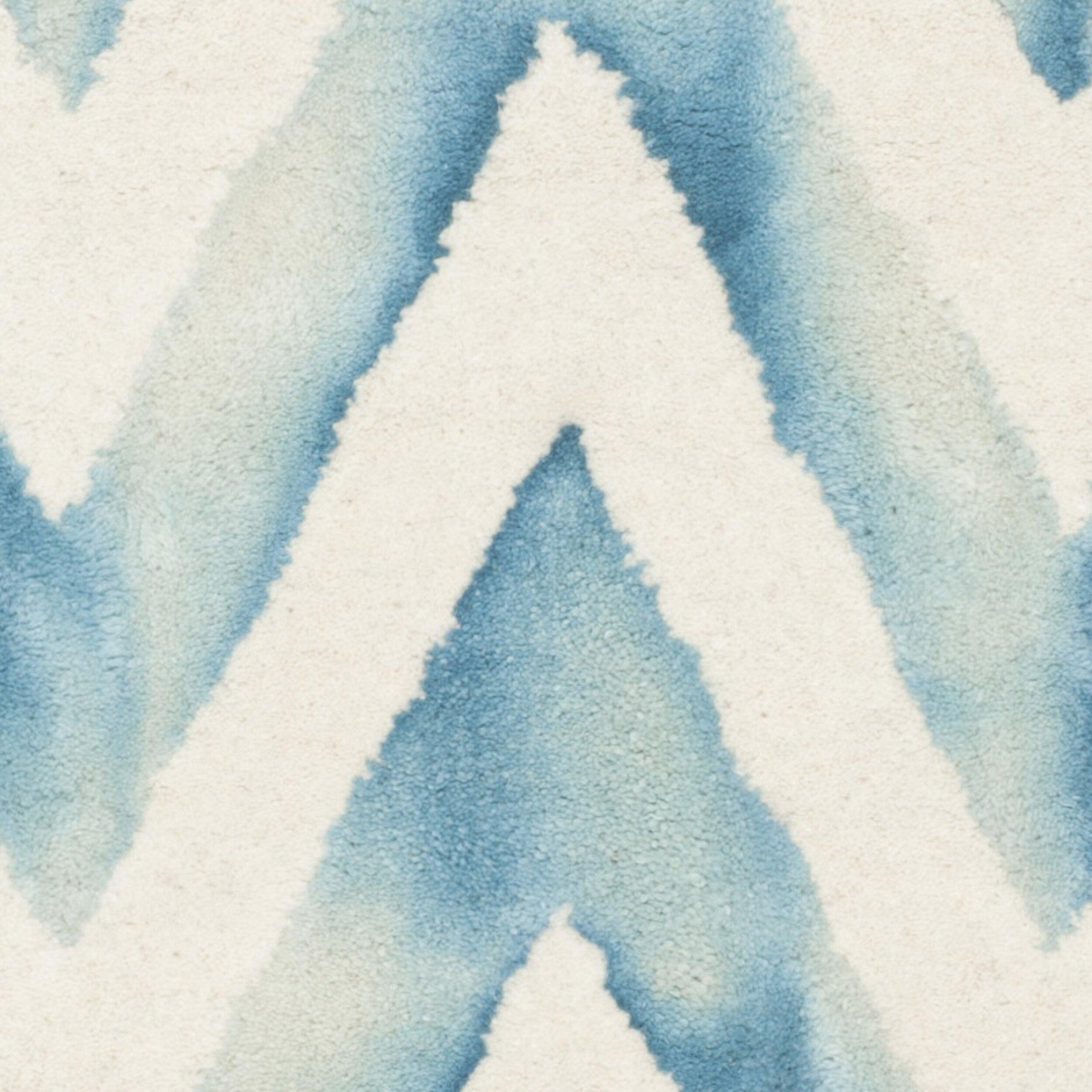 Mercury Row Crux Ivory Turquoise Area Rug Reviews Wayfair