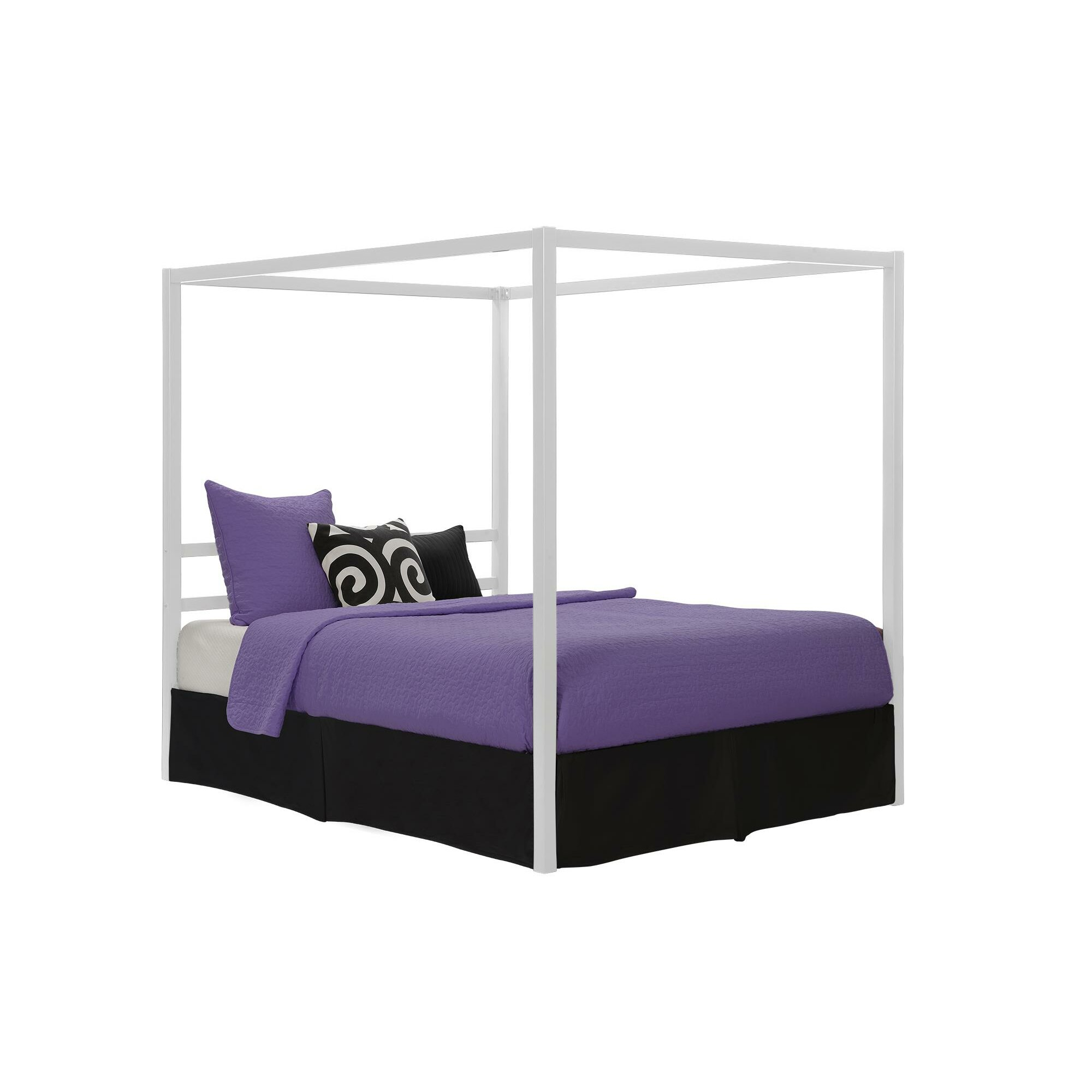 Mercury Row Blanford Queen Canopy Bed Reviews Wayfair