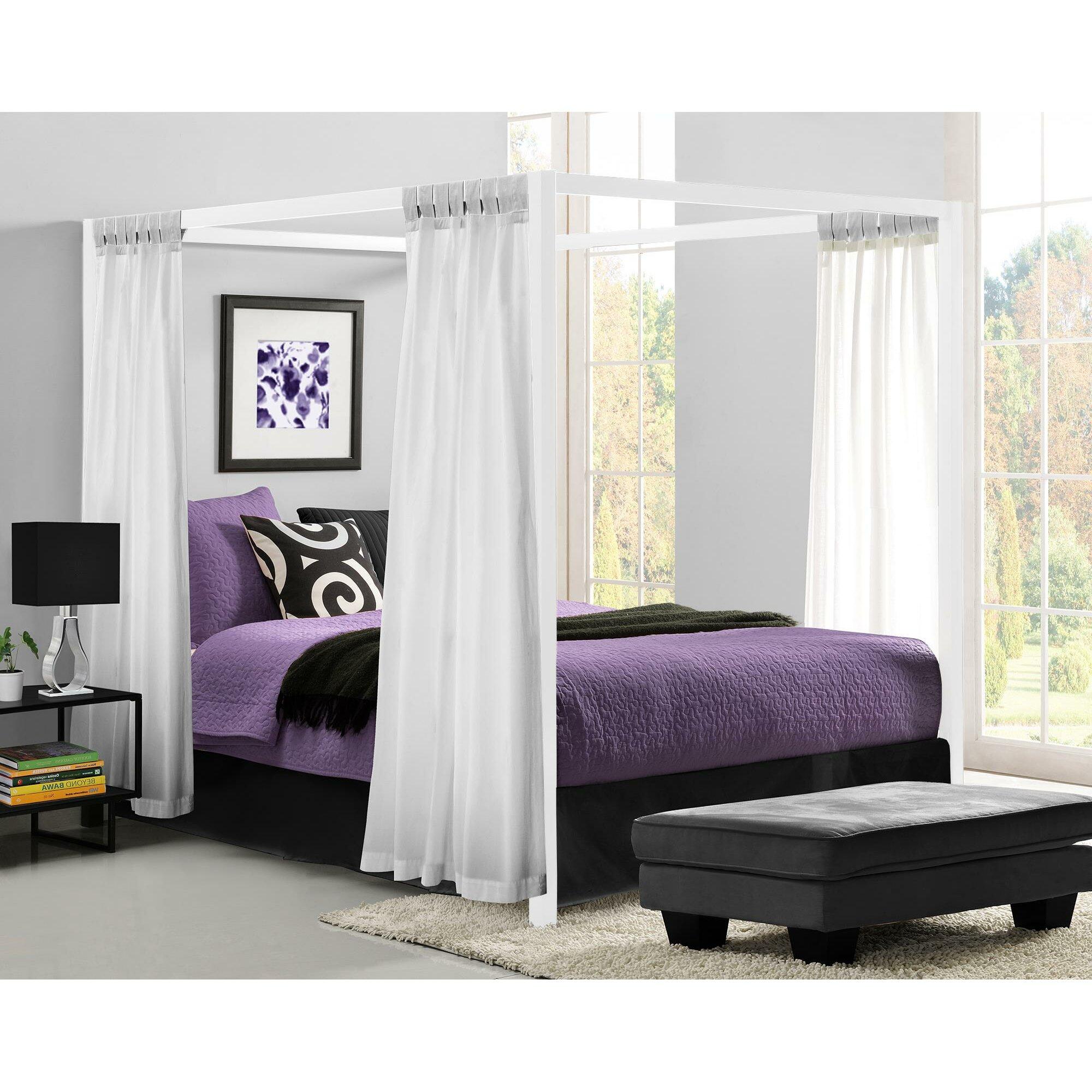 Mercury Row Blanford Queen Canopy Bed Amp Reviews Wayfair