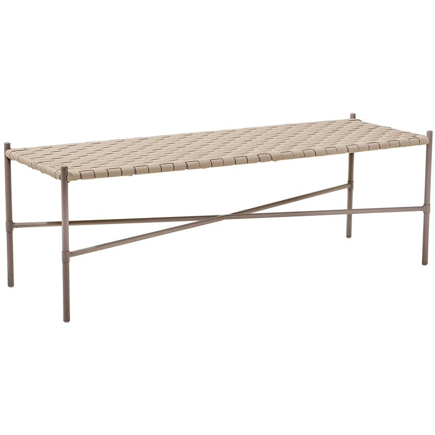 Metal Foyer Bench : Mercury row beckner metal entryway bench wayfair