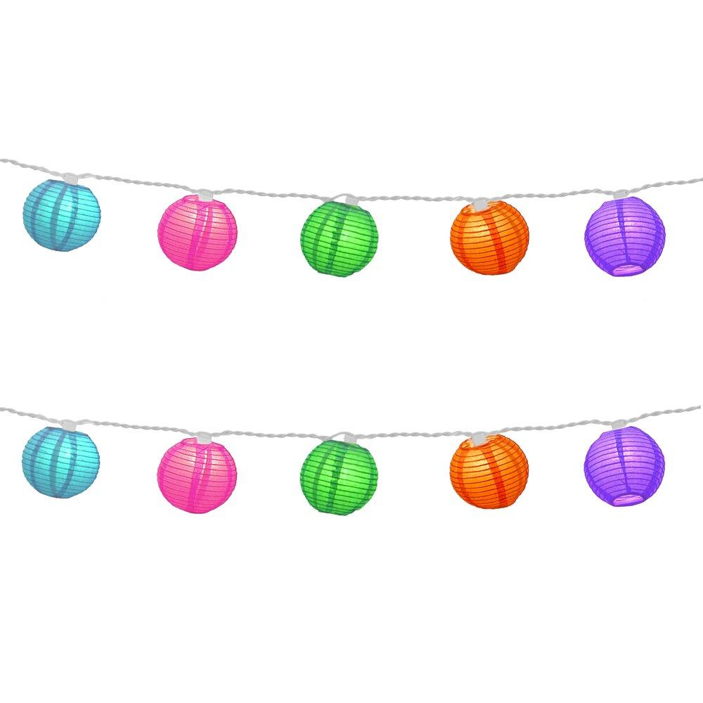 Square Lantern String Lights : Mercury Row Aspen Hill 10-Light Lantern String Lights & Reviews Wayfair