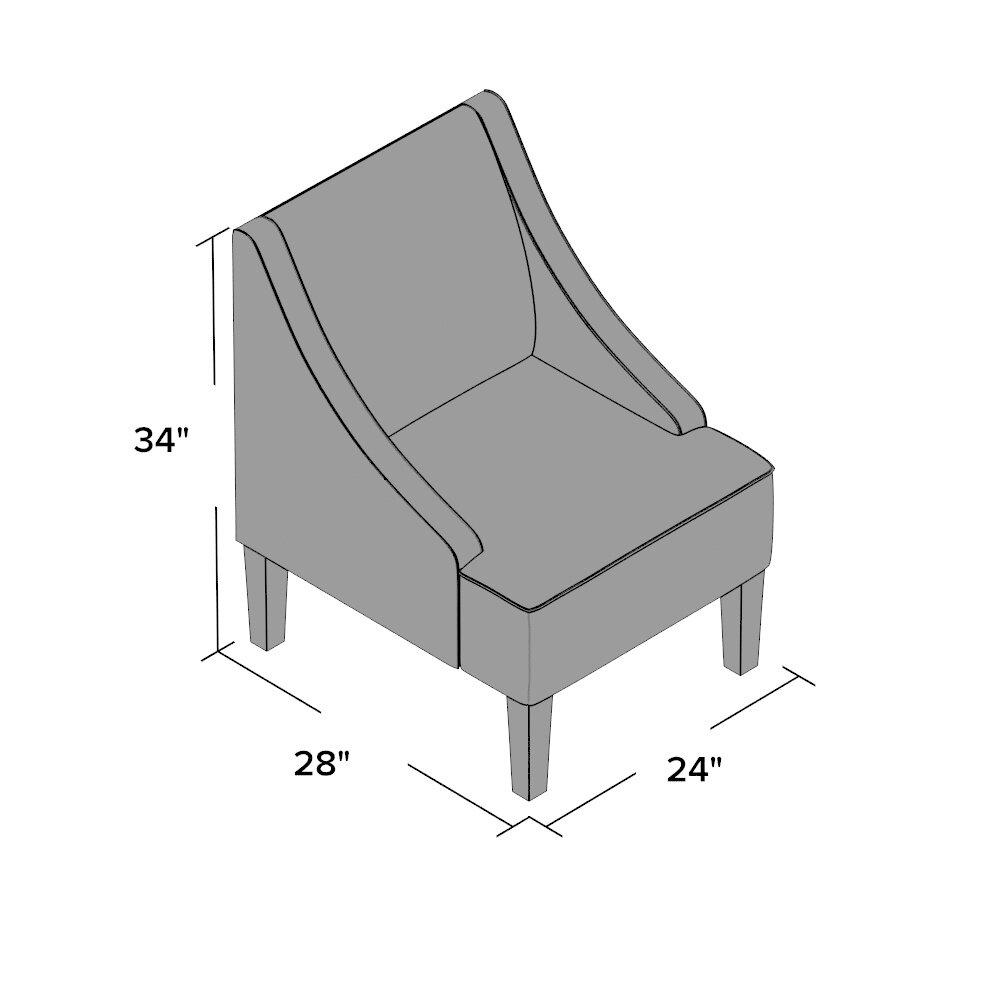 Mercury Row Aeneas Swoop Side Chair Amp Reviews Wayfair