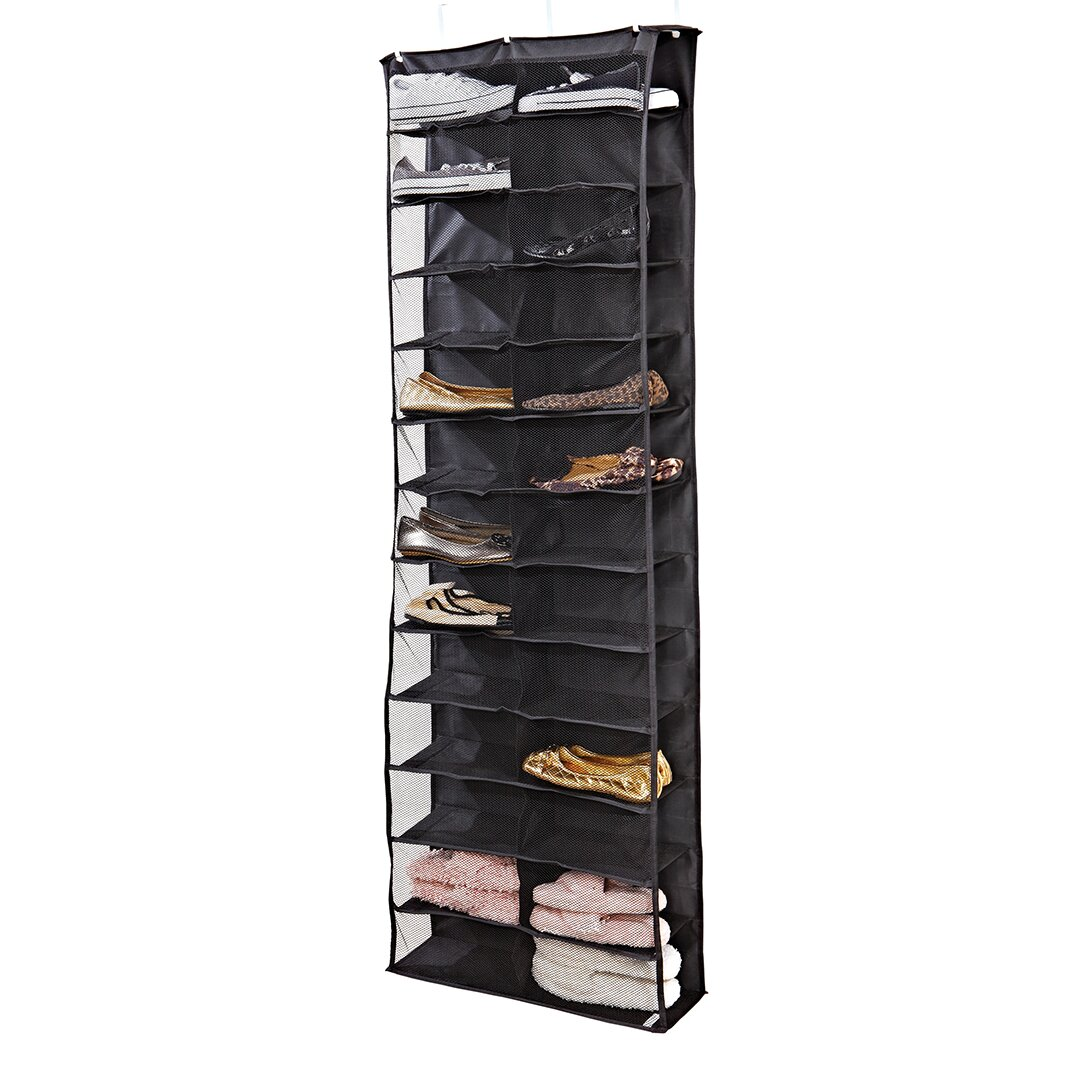 Simplify 26 Compartment Overdoor Shoe Organizer Reviews