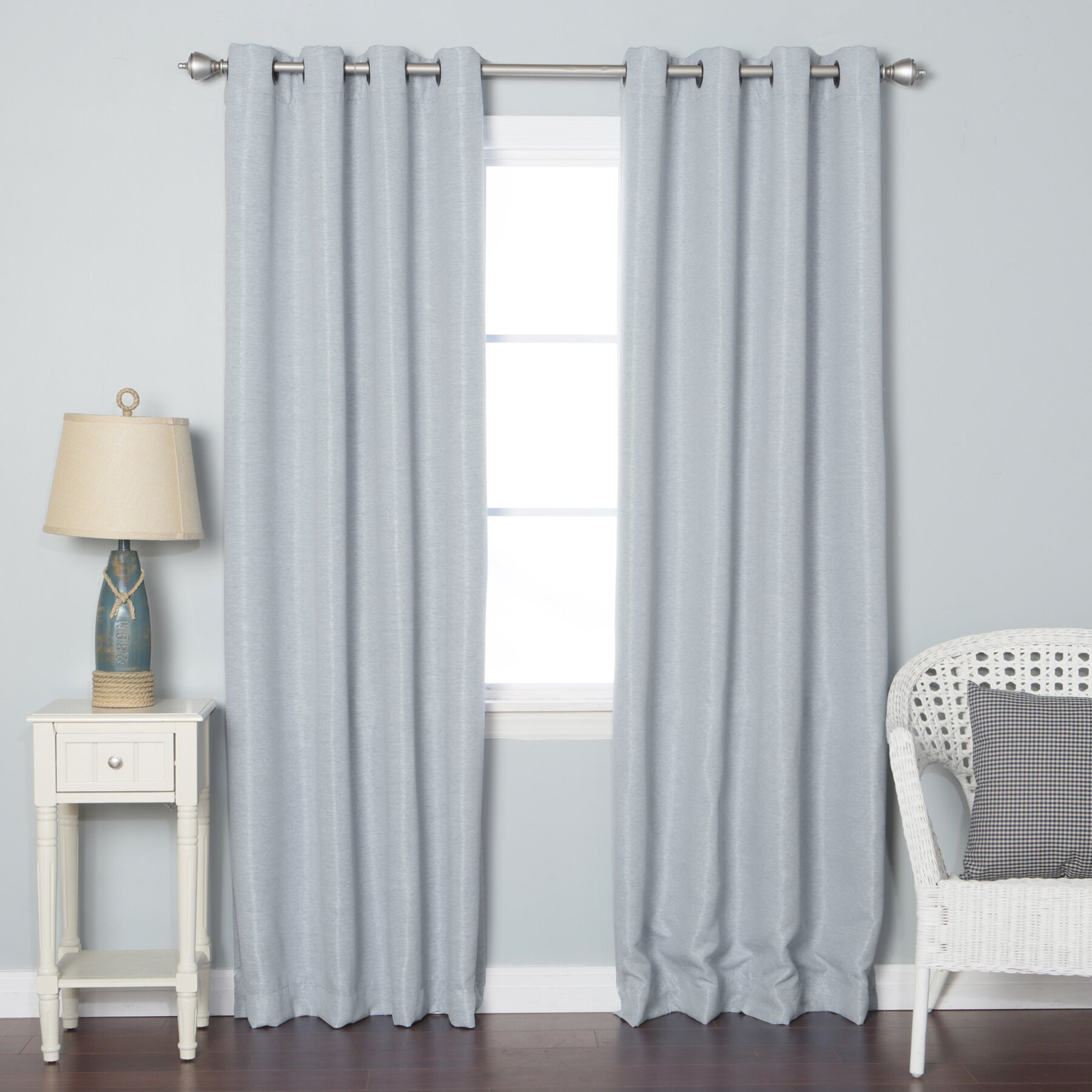 Blackout Curtain Panels By Best Home Fashion Inc