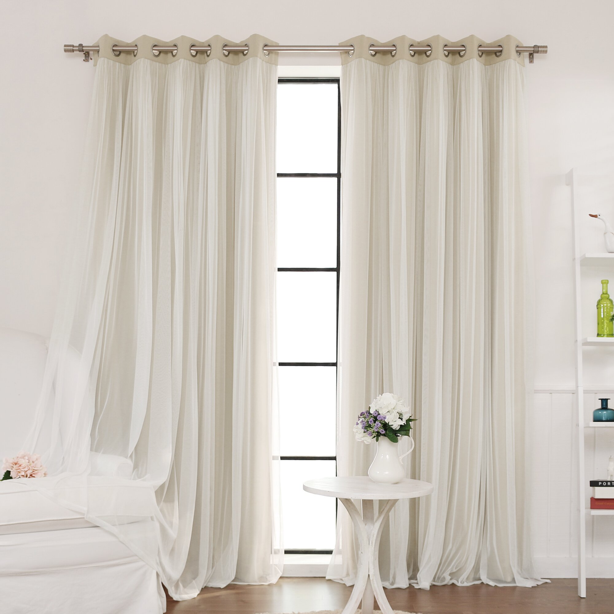 Best Home Fashion, Inc. Indoor Blackout Curtain Panel